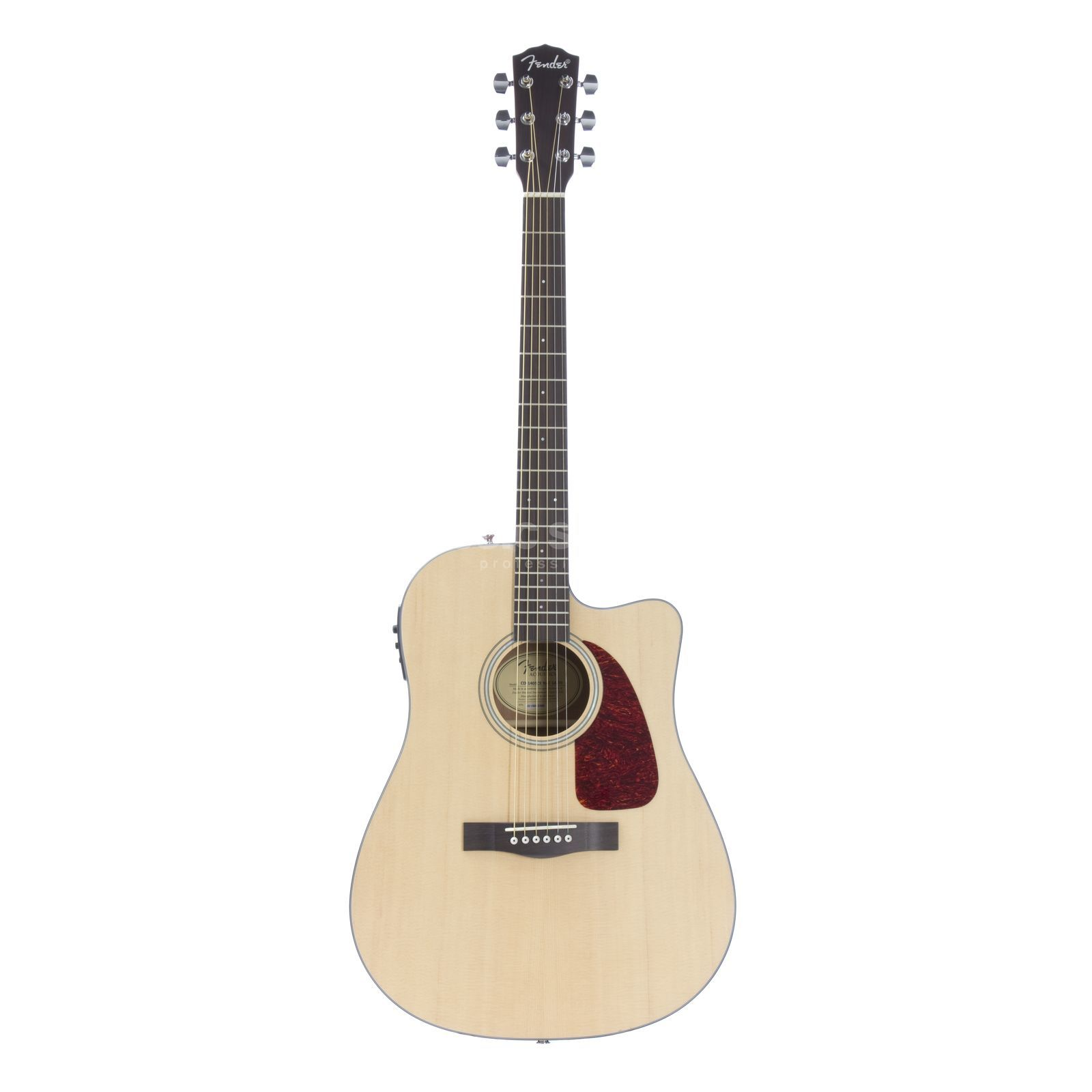 Fender CD-140SCE Natural Satin Produktbillede