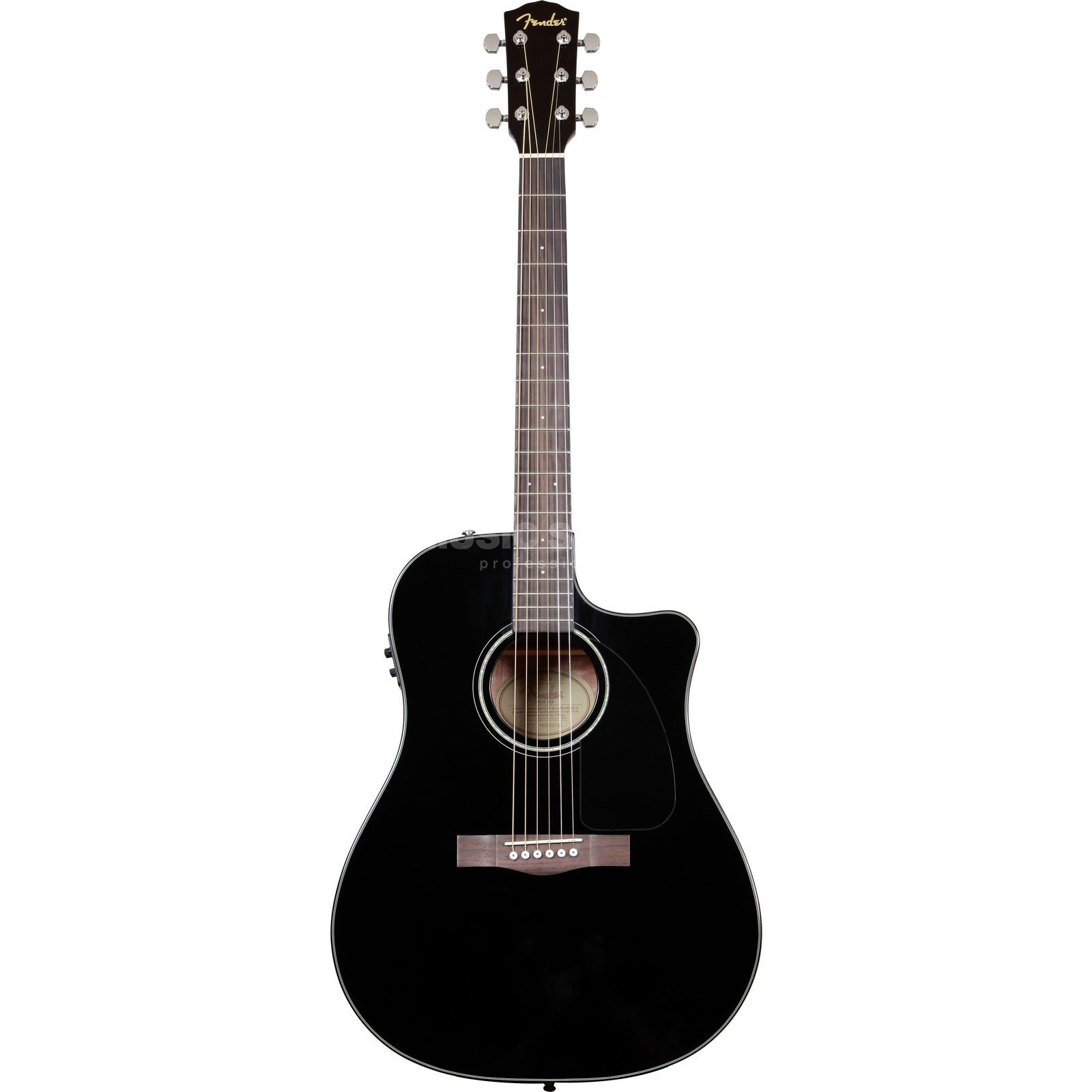 Fender CD-60-CE BLK Black Produktbild