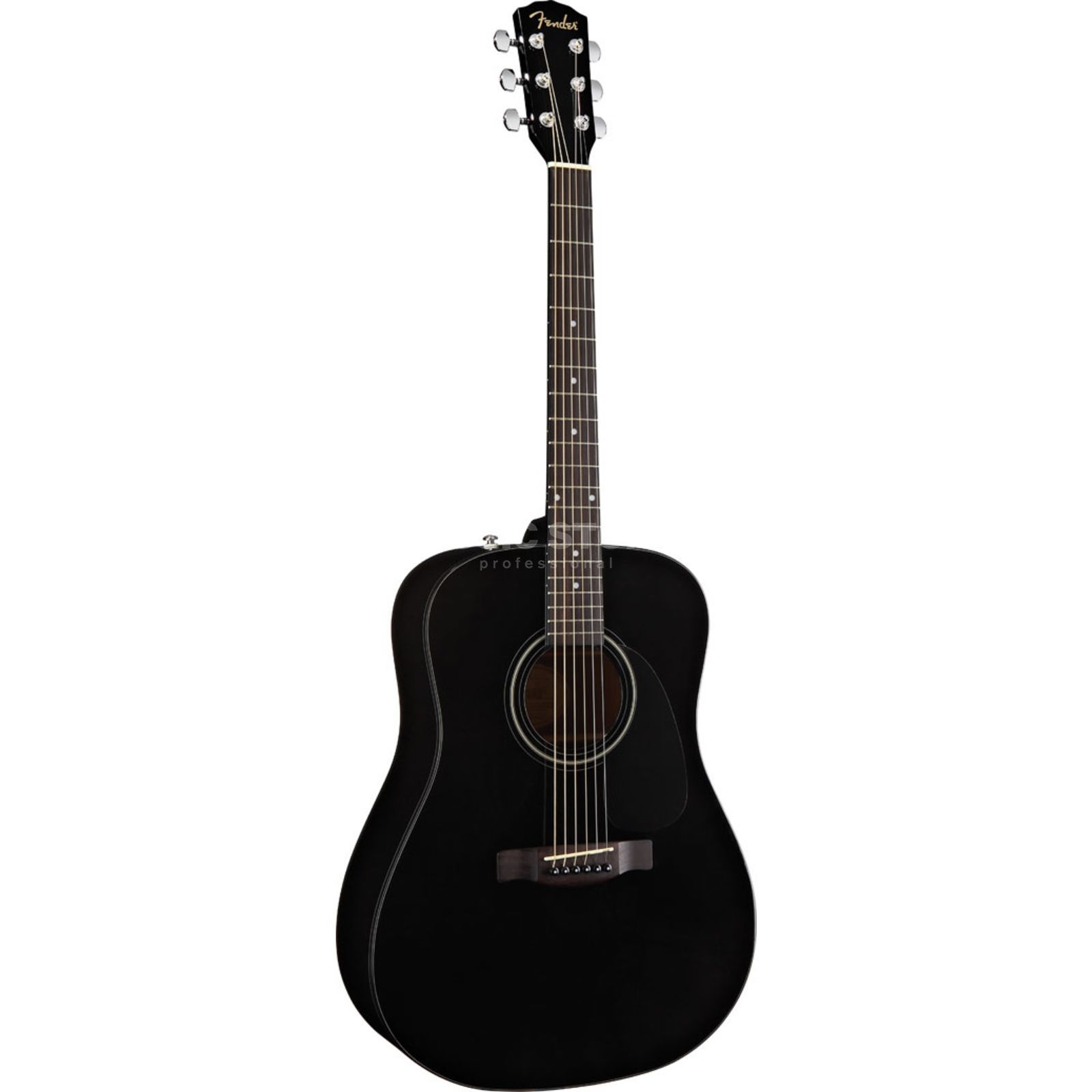 Fender CD 60 Pack Acoustic Guitar Pac k, Black   Produktbillede