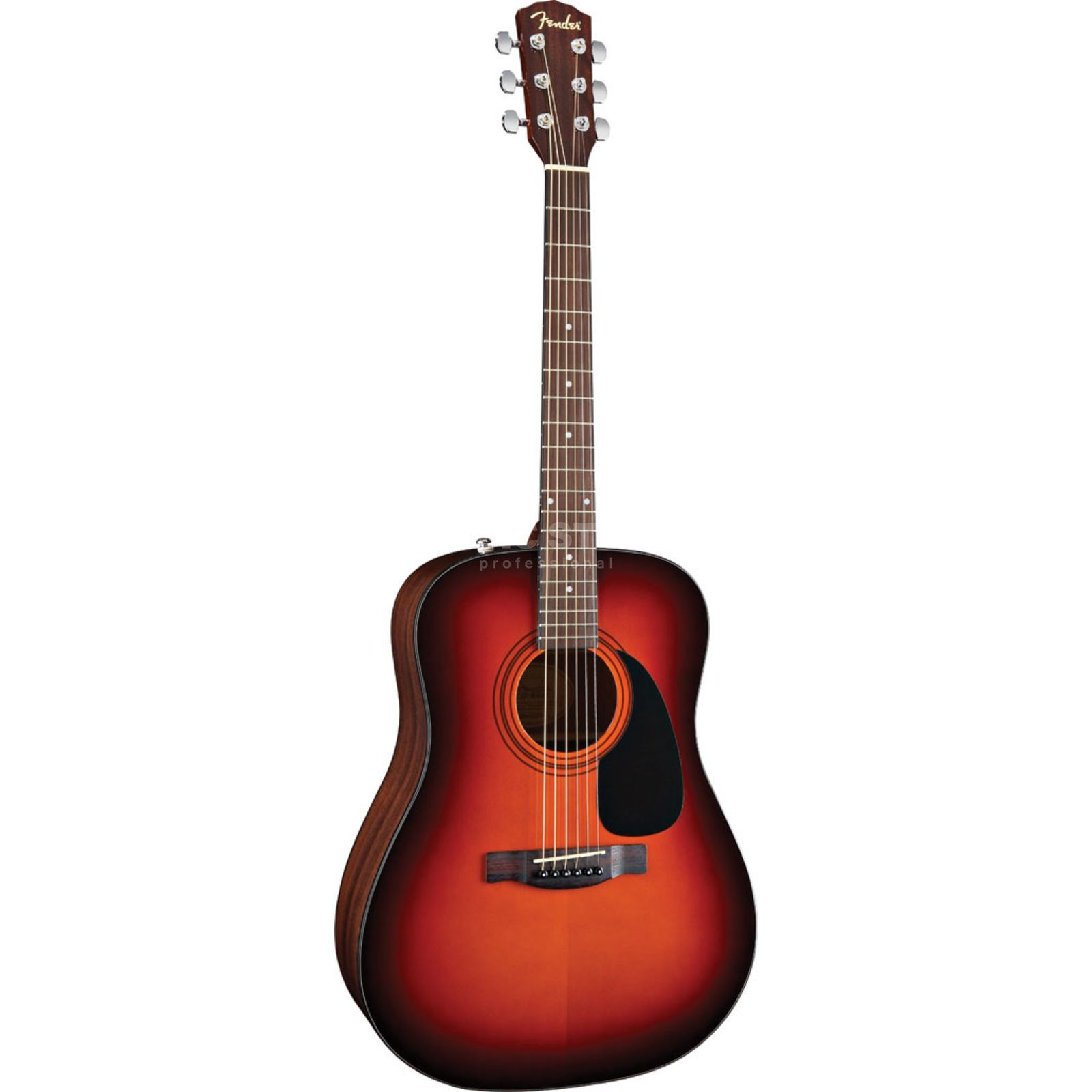 Fender CD 60 Pack SB Sunburst, Dreadnought Produktbillede