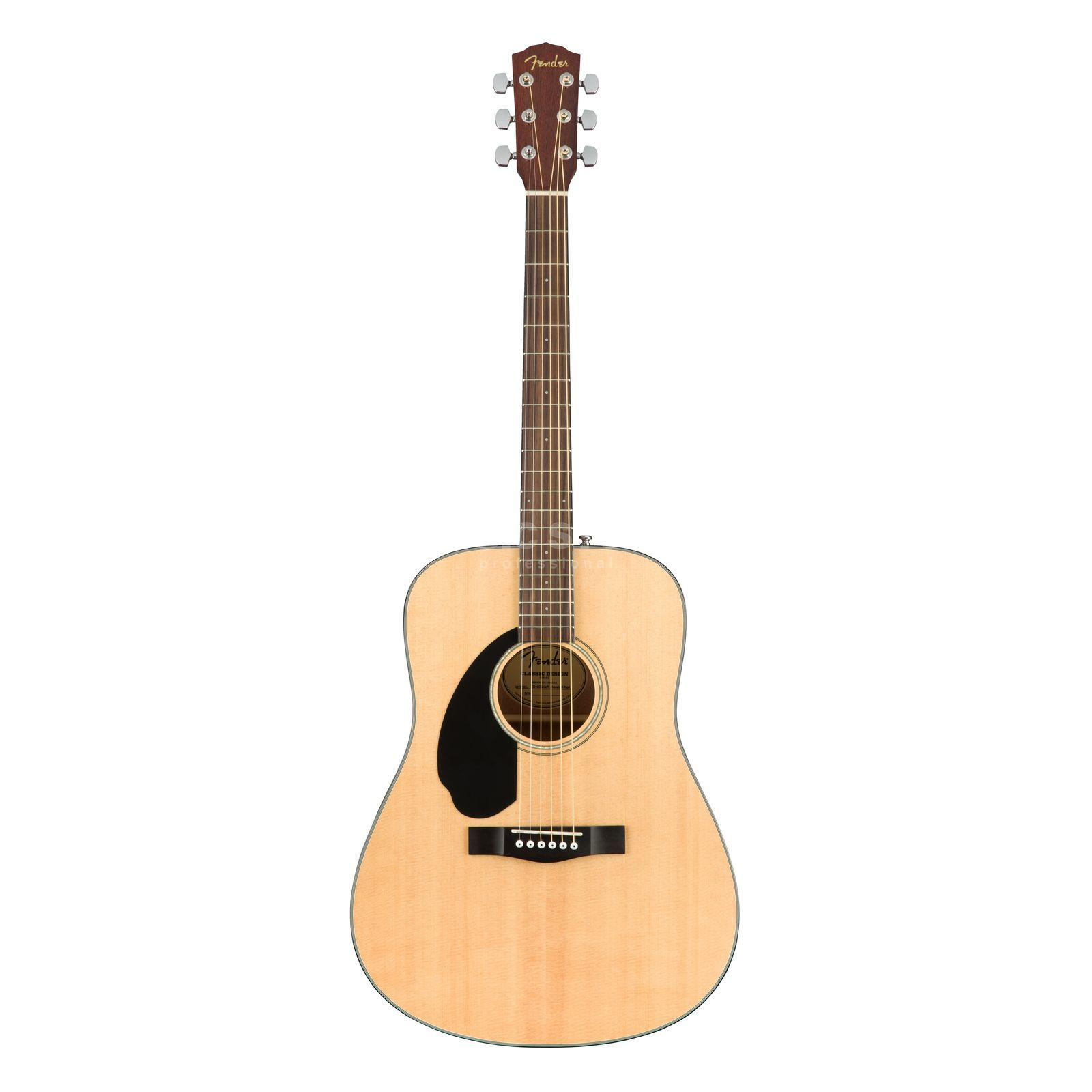 Fender CD-60S Lefthand Natural Productafbeelding
