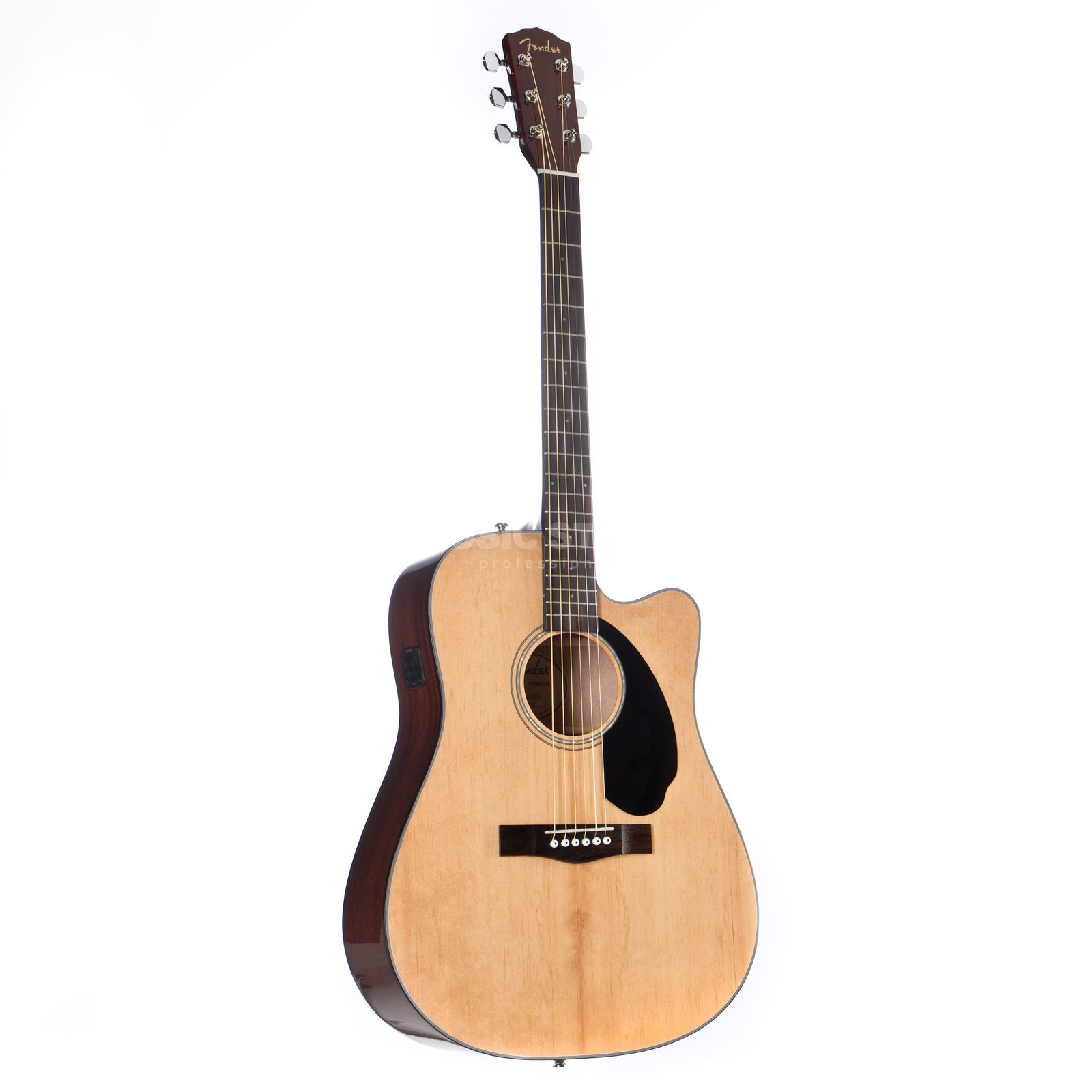 Fender CD-60SCE Natural Productafbeelding