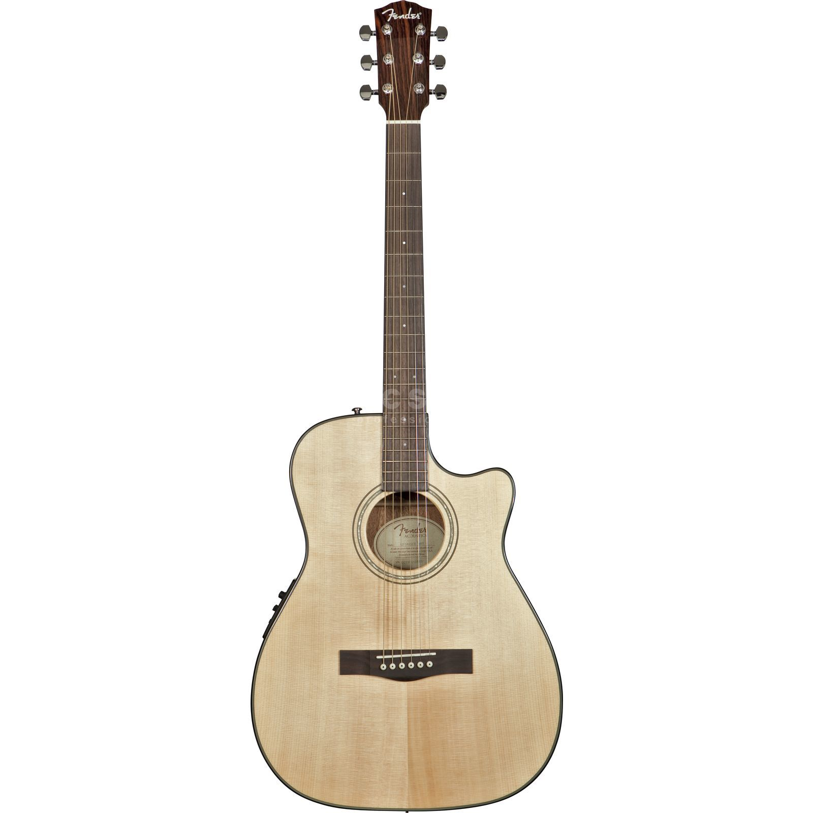Fender CF-140SCE Folk NAT Natural Produktbild