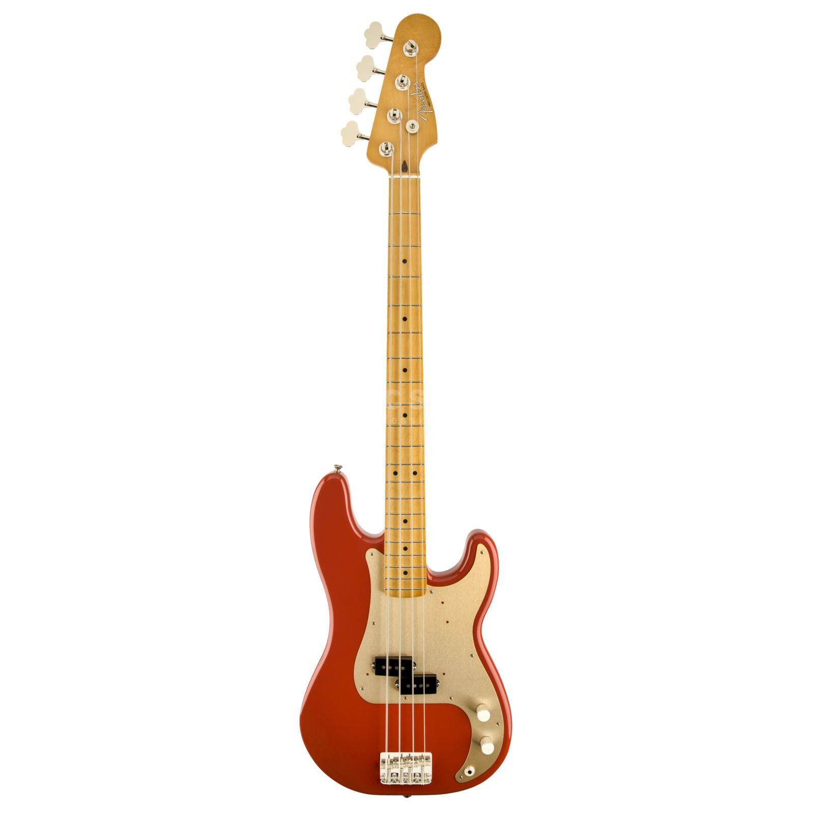 Fender Classic '50s P-bas MN FRD Fiesta rood Productafbeelding