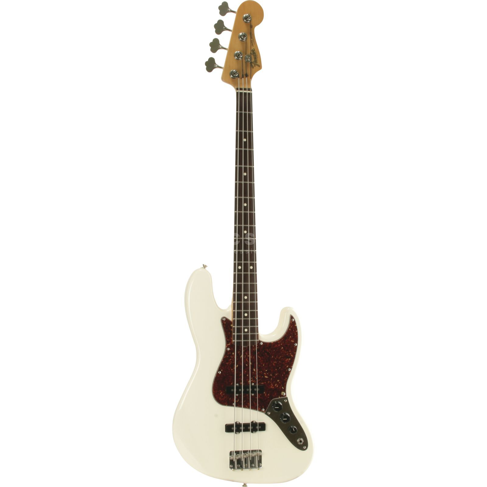 Fender Classic '60s J-Bass RW OWH Olympic White Produktbild