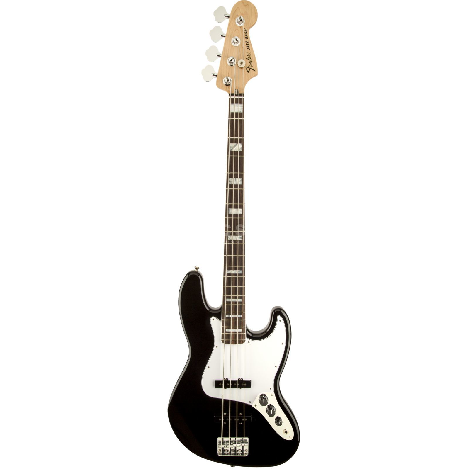 Fender Classic '70s Jazz Bass RW Black, Gigbag Изображение товара