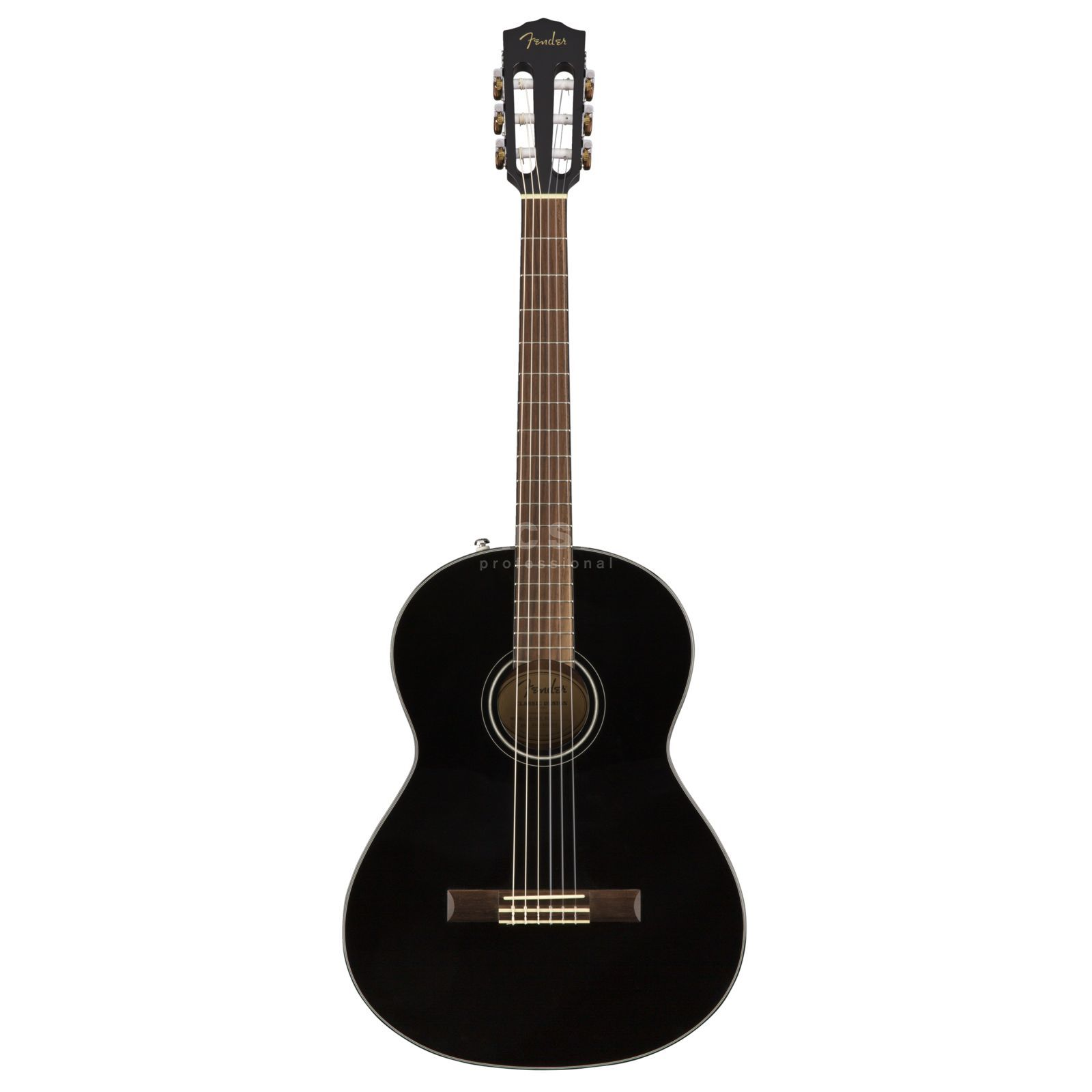 Fender CN-60S Nylon  Black Product Image