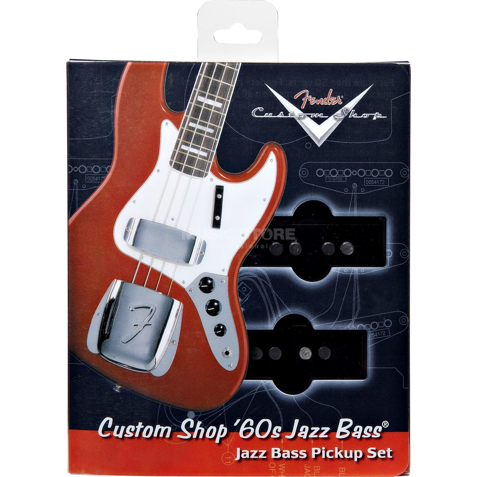 Fender Custom 60`s Jazz Bass Pickups Product Image
