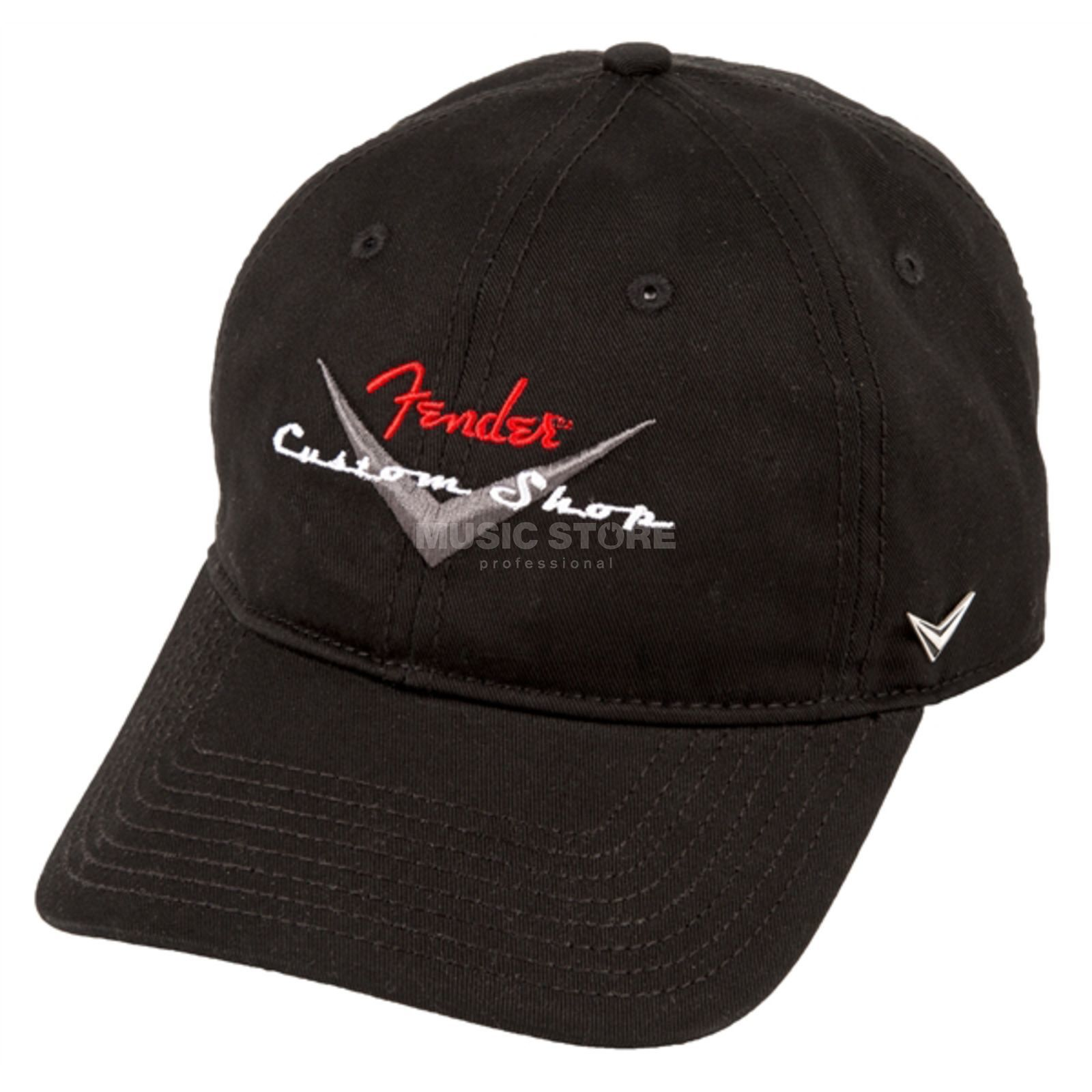 Fender Custom Shop Baseball Hat Black Zdjęcie produktu