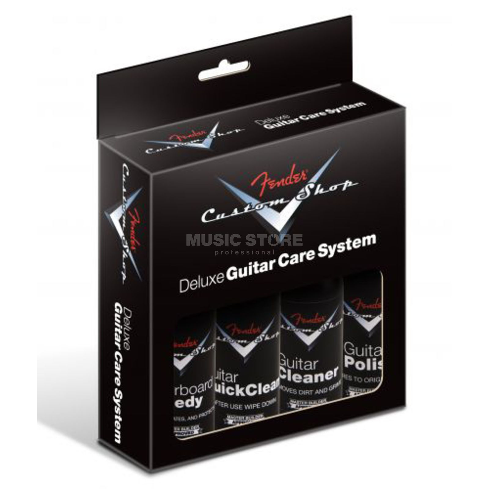Fender Custom Shop Deluxe Care Kit 4 Pack Produktbillede