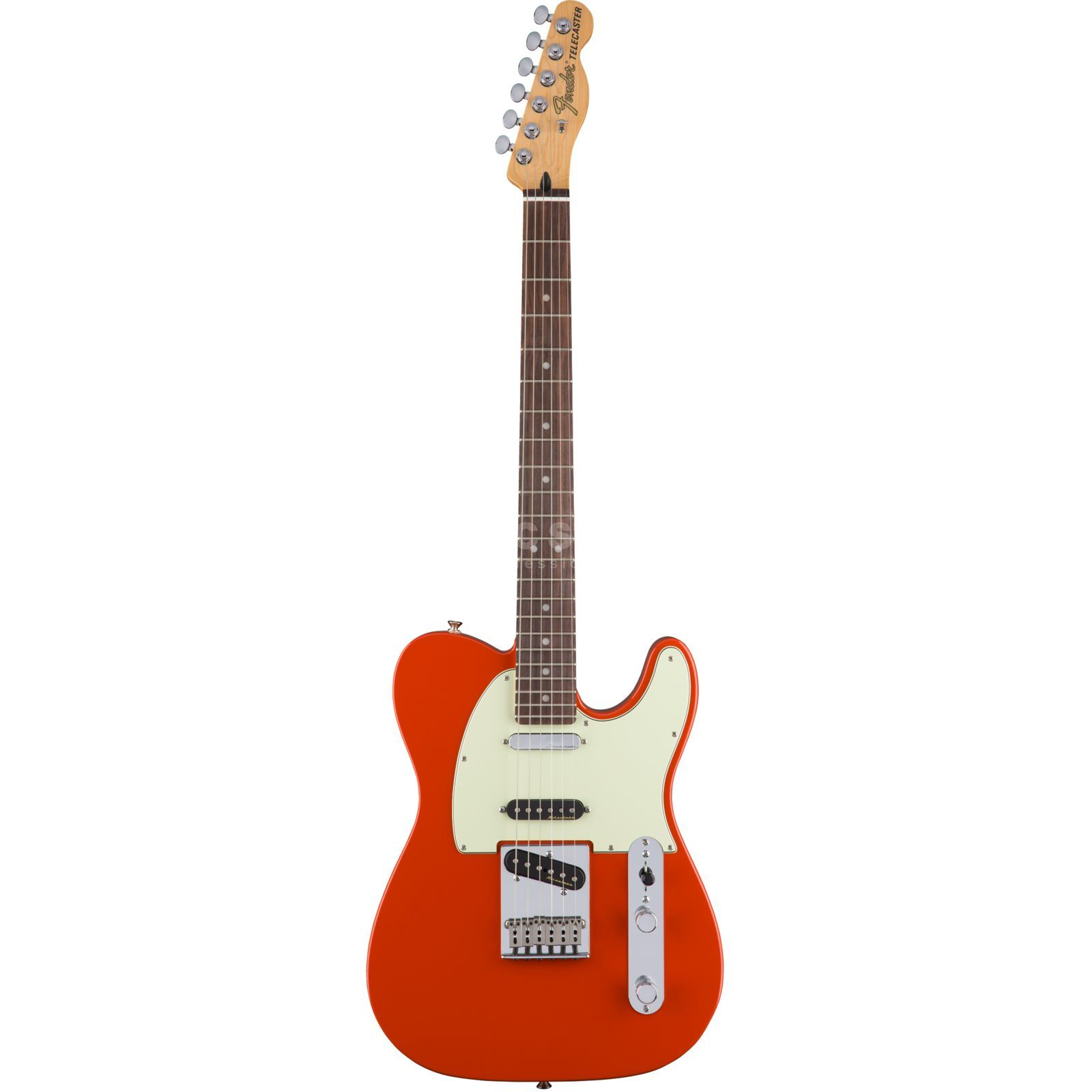 Fender Deluxe Nashville Telecaster RW FRD Fiesta Red Product Image