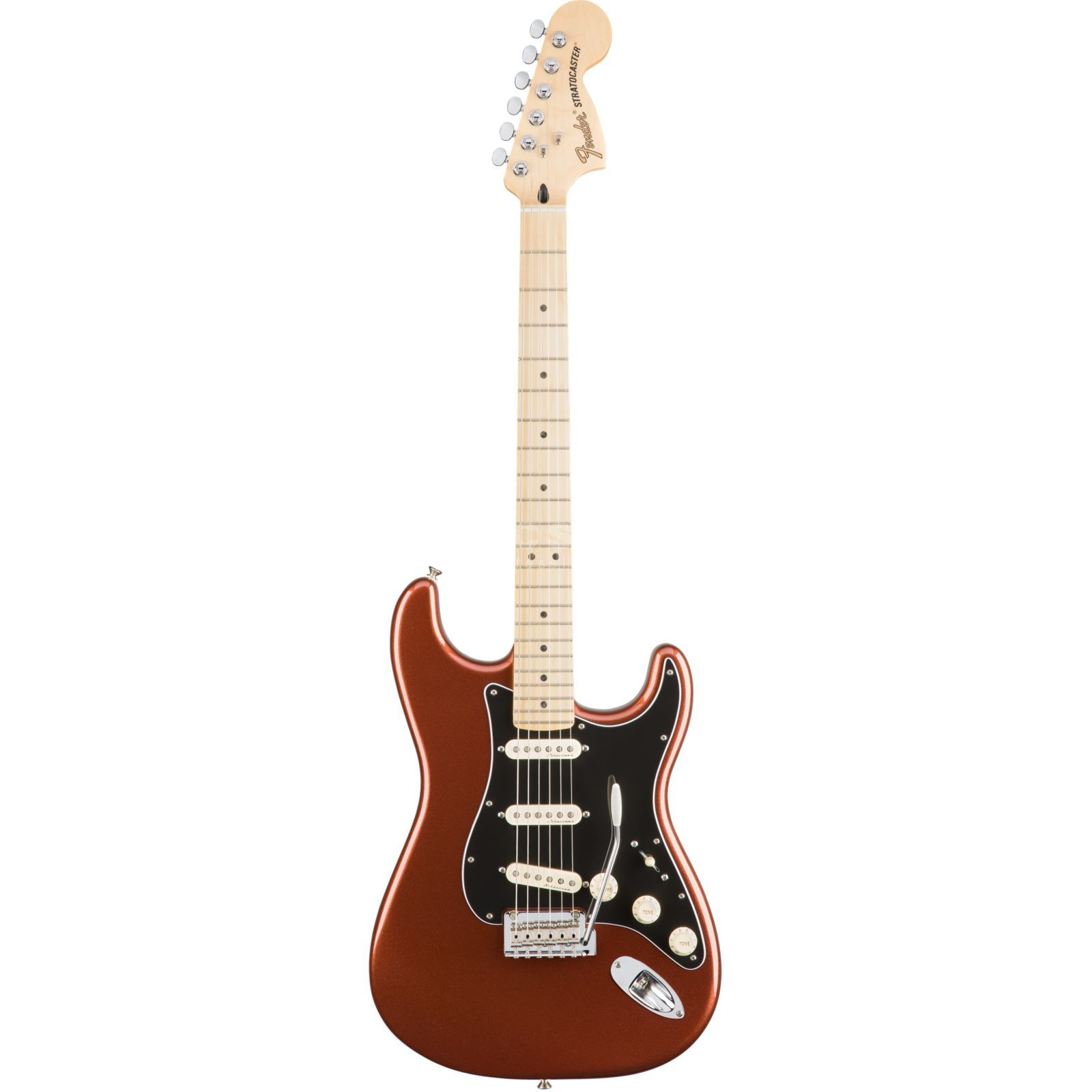 Fender Deluxe Roadhouse Stratocaster MN COP Classic Copper Produktbillede
