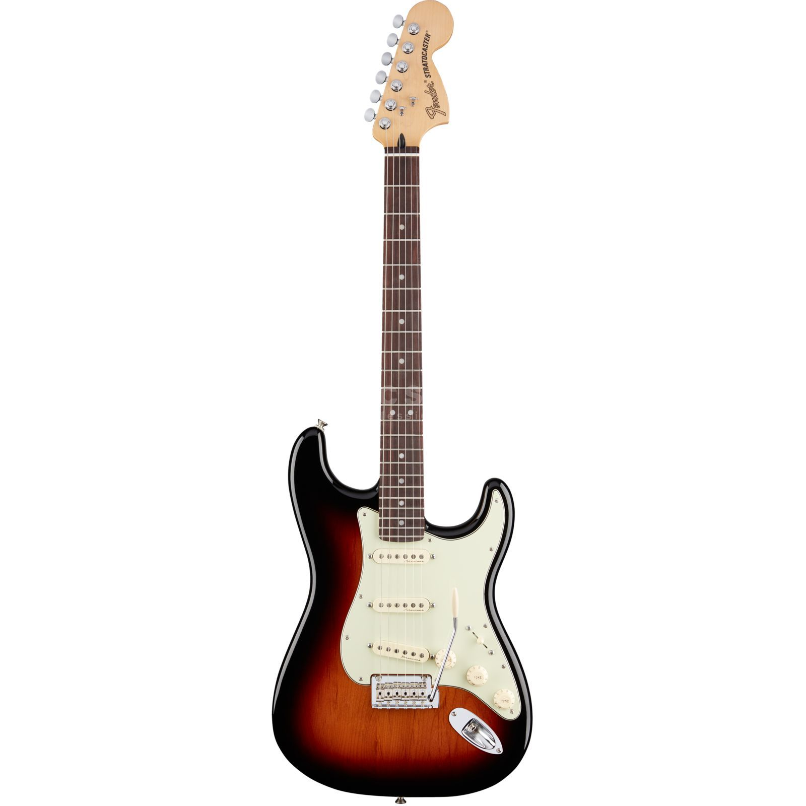 Fender Deluxe Roadhouse Stratocaster RW 3TS 3-Tone Sunburst Productafbeelding