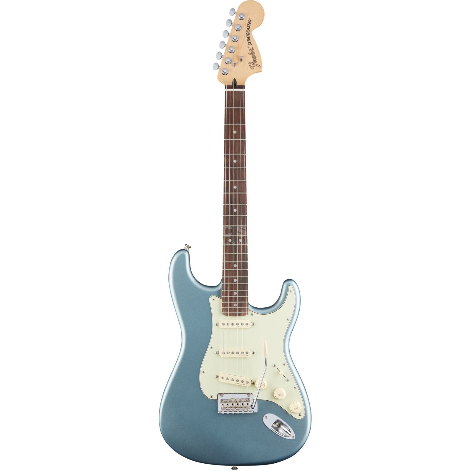 Fender Deluxe Roadhouse Stratocaster RW MIB Mystic Ice Blue Product Image