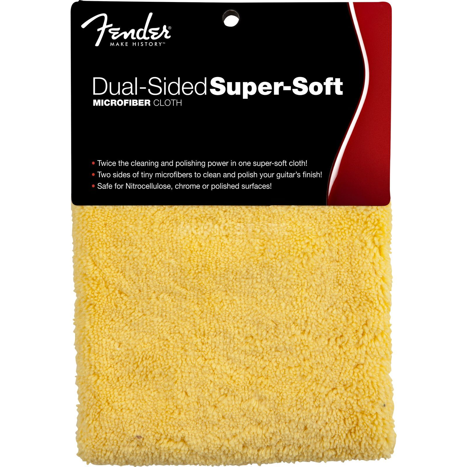 Fender Dual Sided Super Soft Cloth Microfiber Produktbillede