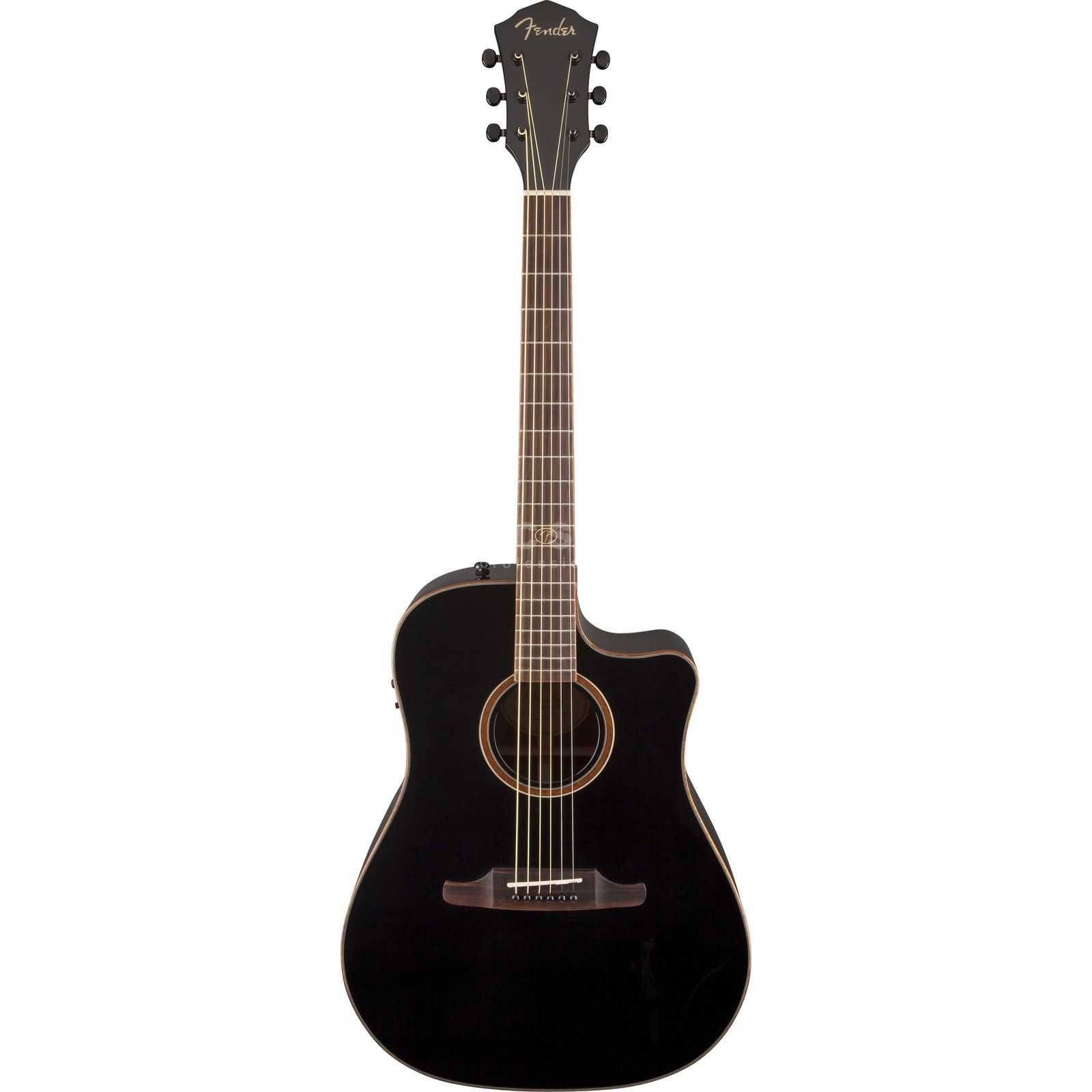 Fender F-1020SCE BLK Dreadnought Black Produktbild