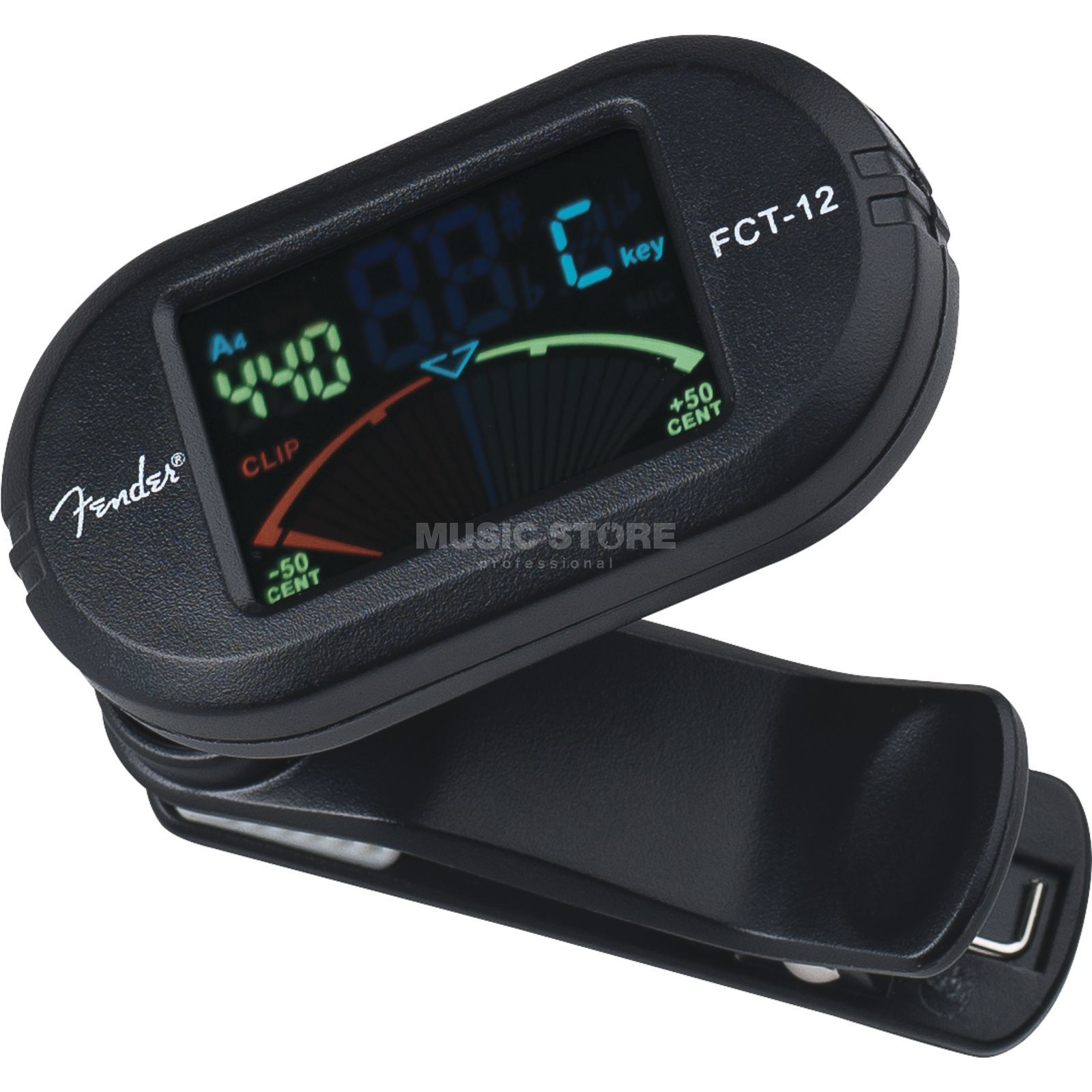 Fender FCT-012 Color Clip-On Tuner chromatisch Produktbild