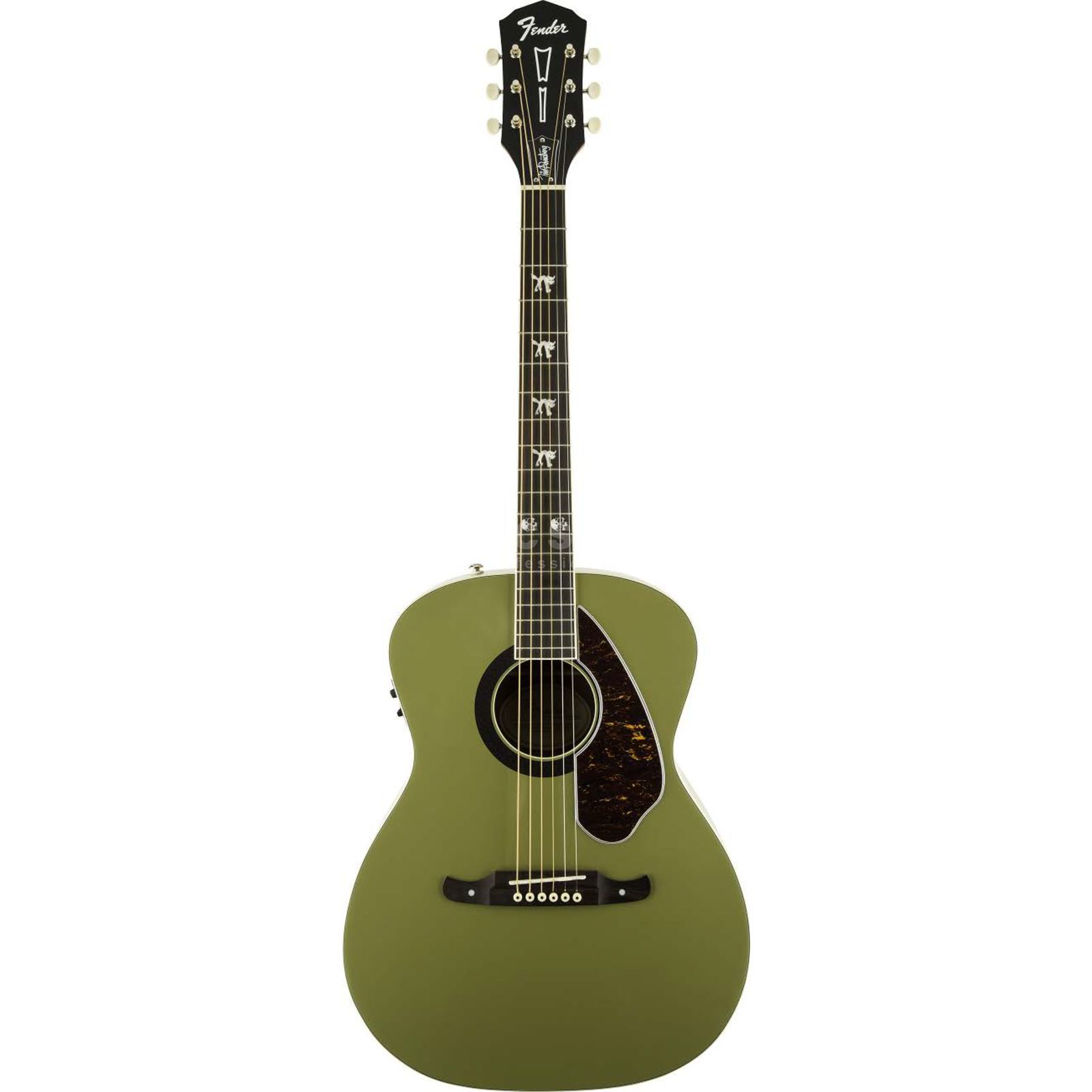 Fender FSR Tim Armstrong Honor Green Produktbillede