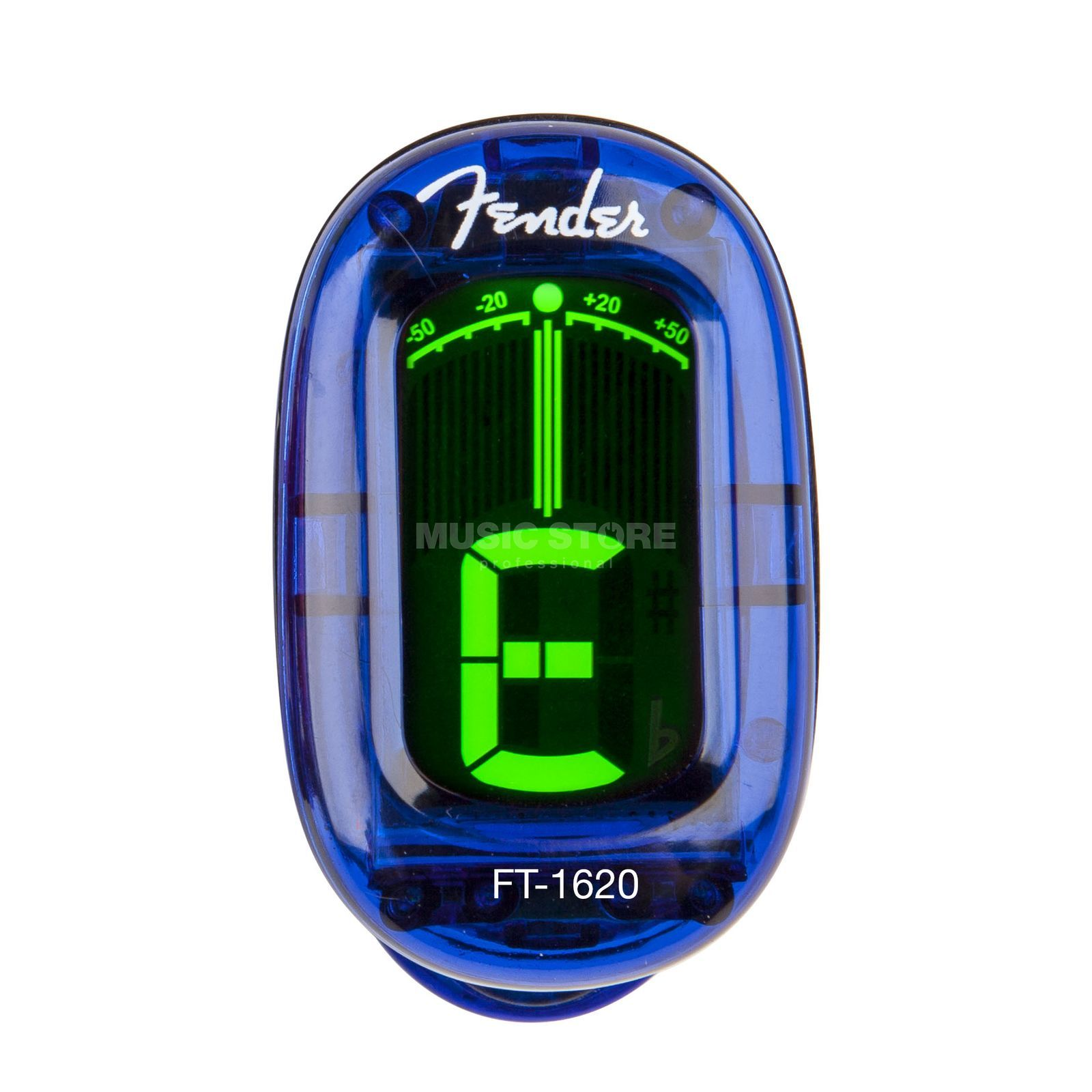 Fender FT-1620 Clip-on Tuner LPB California Series Produktbild