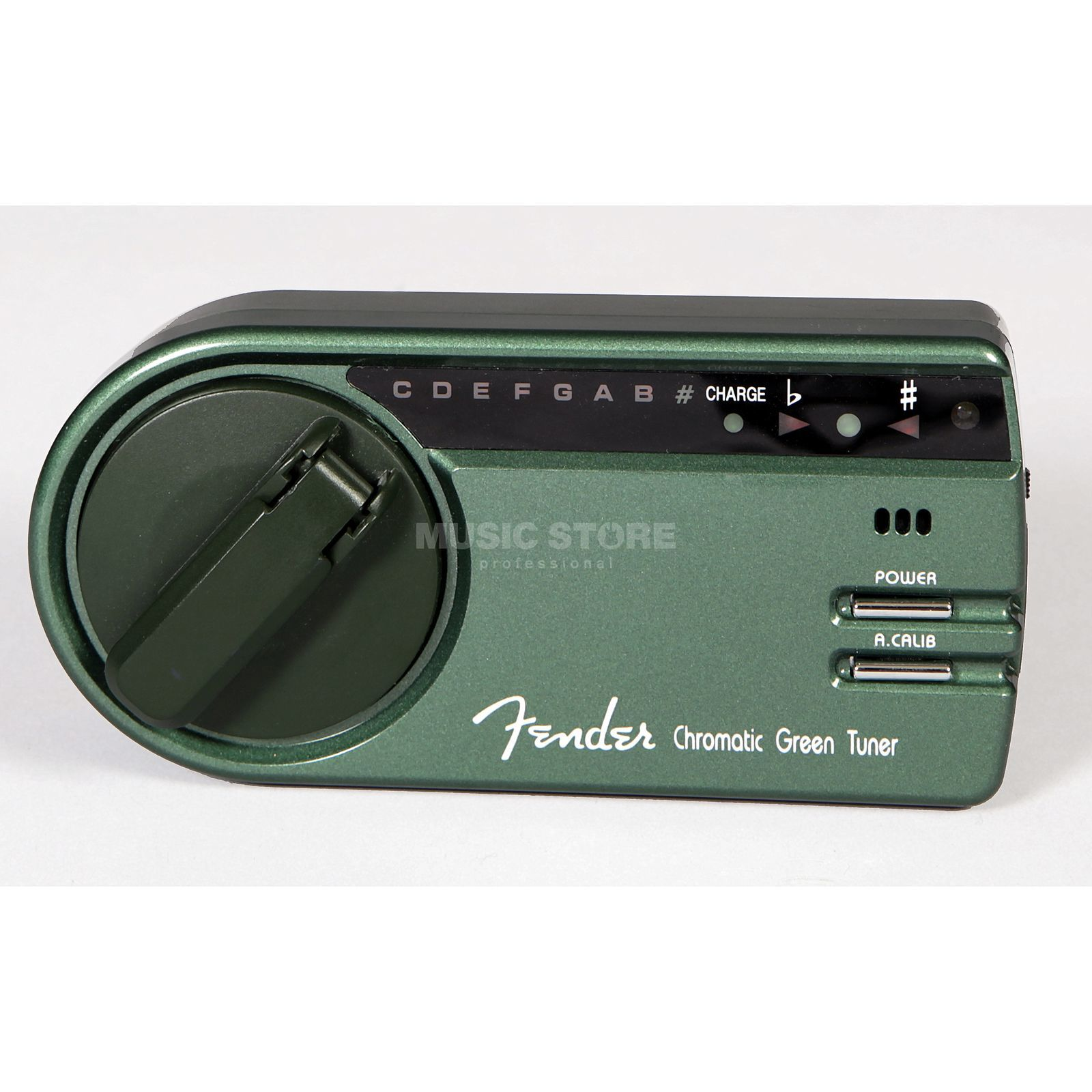 Fender GT-1000 Chromatic Green Tuner    Produktbillede