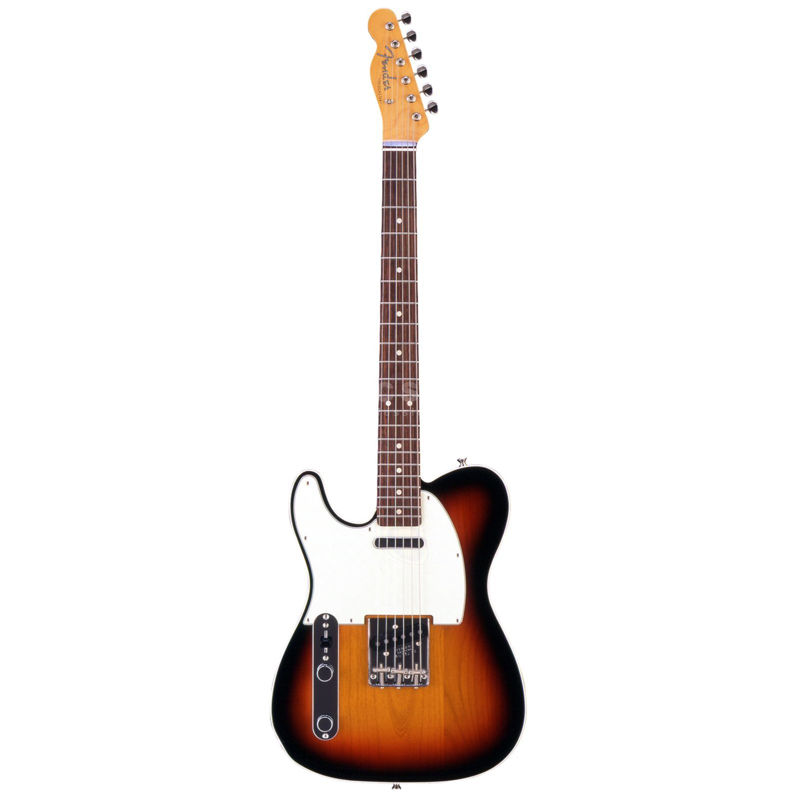 Fender Japan Limited Classic '60s Tele Custom RW Lefthand 3-Color Sunburst Produktbild