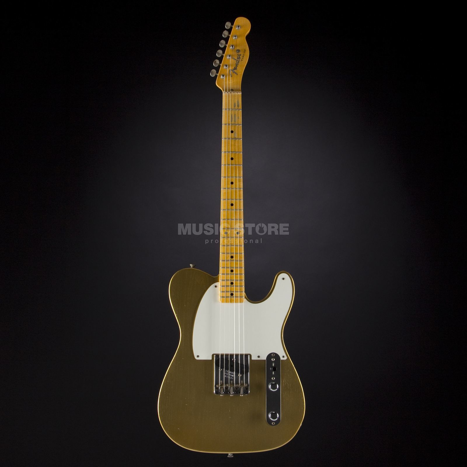 Fender Journeyman Relic Full Throttle Esquire HLE Gold #R15109 Produktbillede