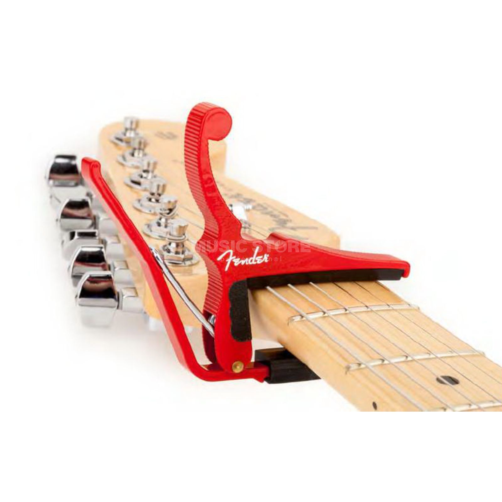 Fender Kyser Quick-Change Capo Red Produktbillede
