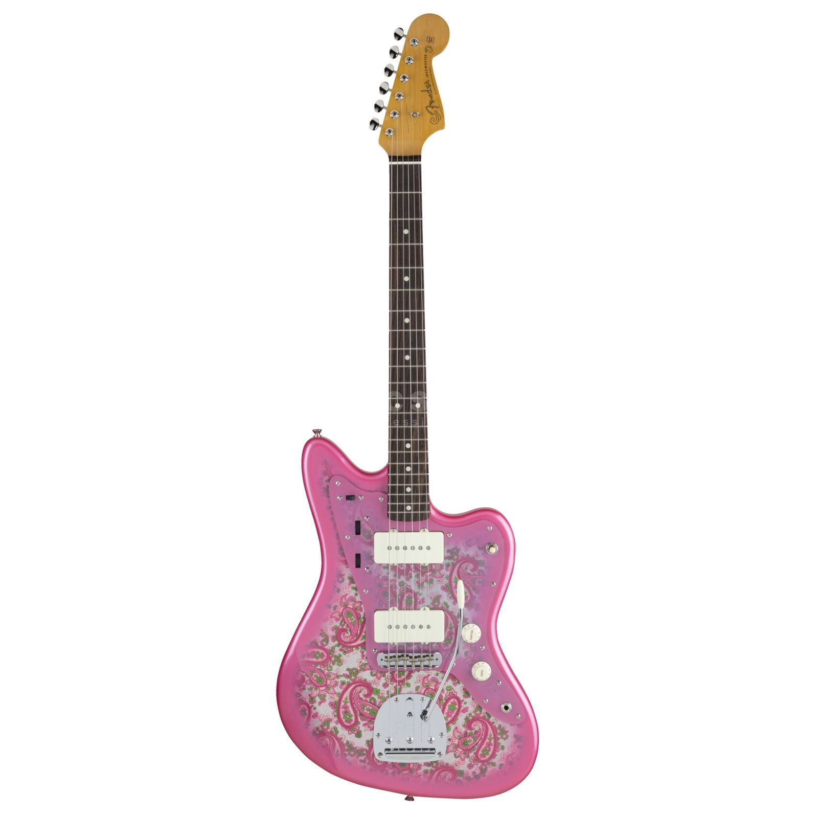 Fender Made in Japan Traditional '60s Jazzmaster RW Pink Paisley Produktbild