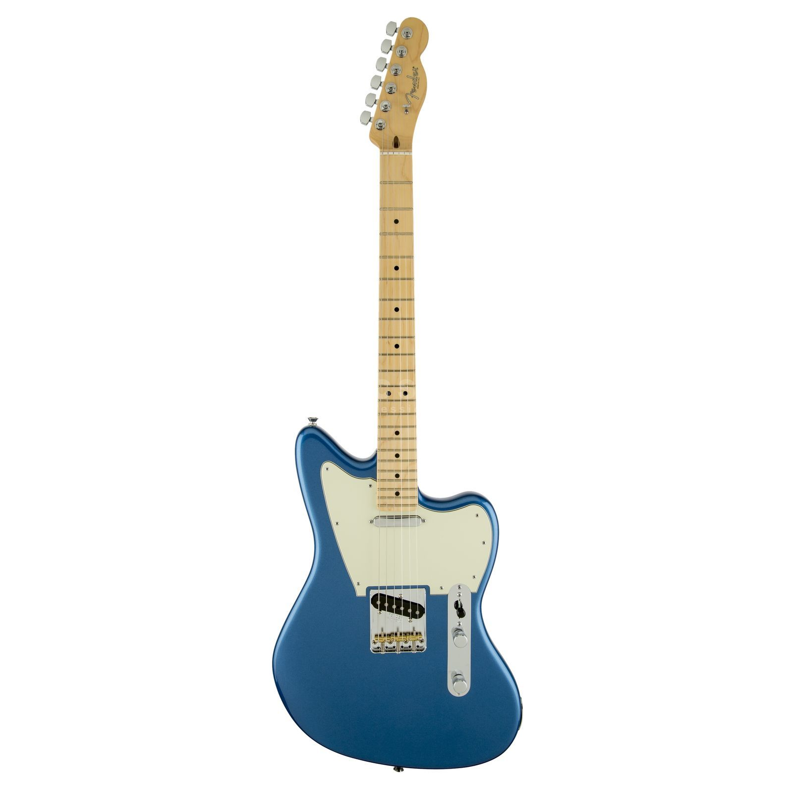 Fender Magnificent 7 Offset Tele MN Lake Placid Blue Produktbillede