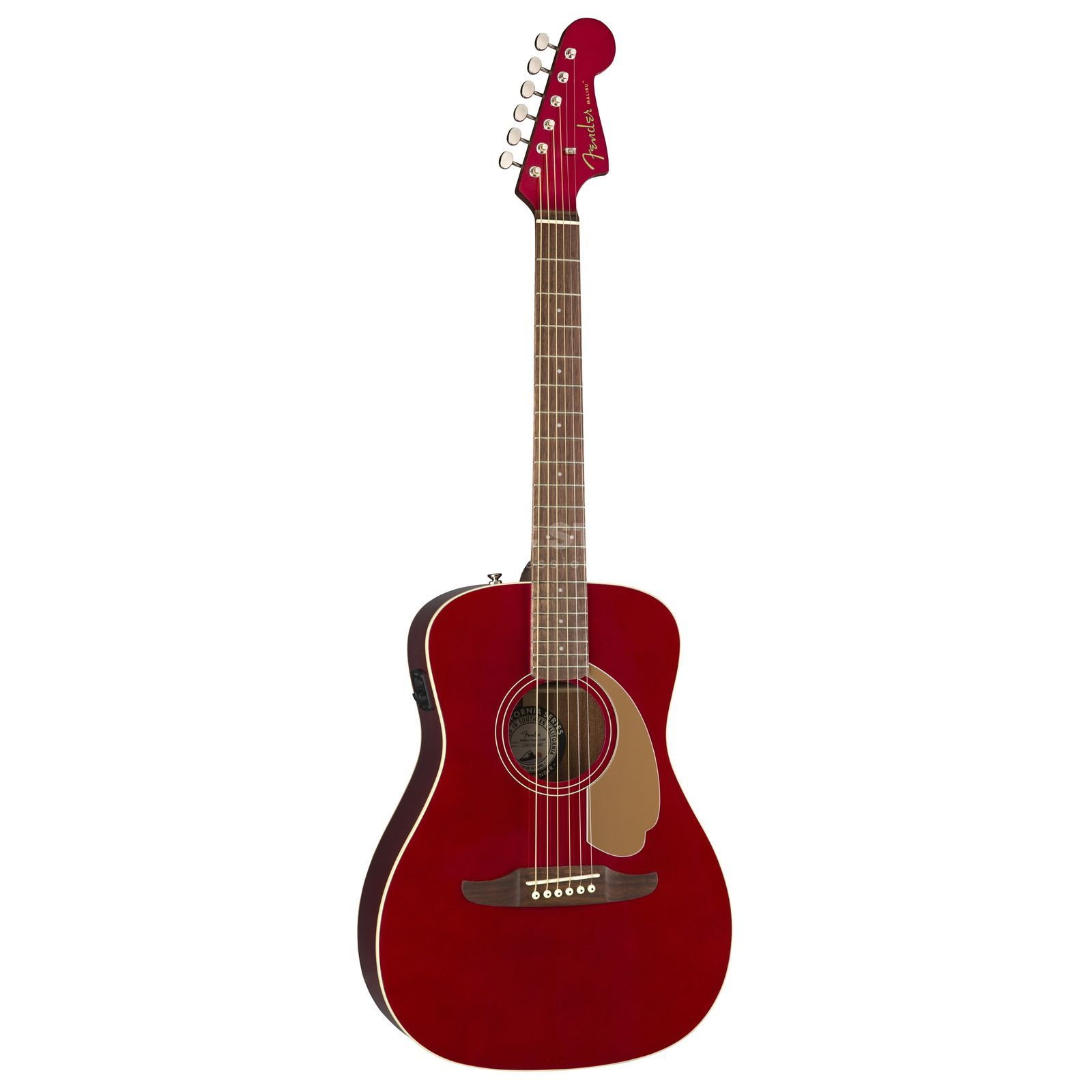 Fender Malibu Player CAR Candy Apple Red Image du produit