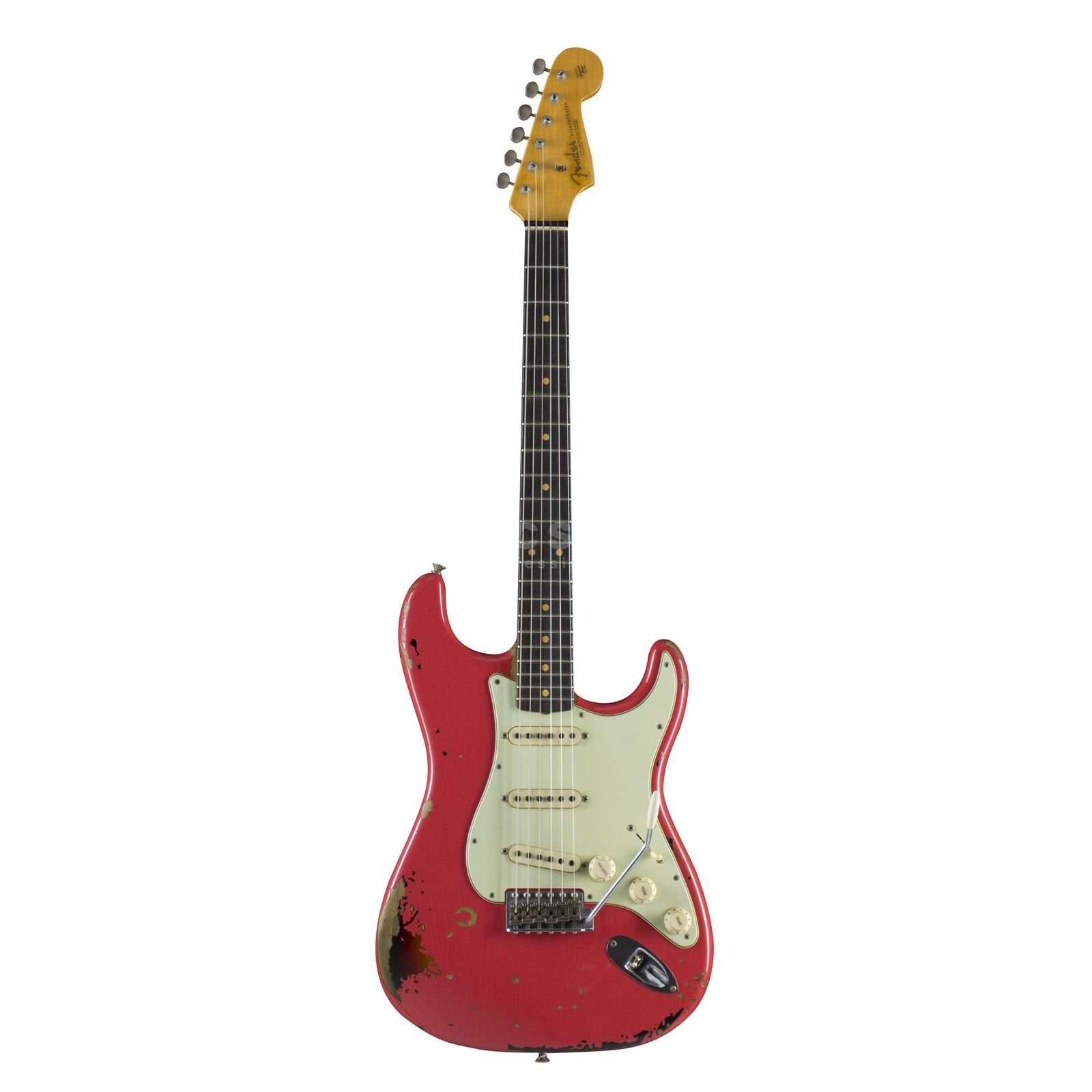 Fender Michael Landau 1963 Relic Stratocaster Fiesta Red over 3-Color Sunburst Produktbild