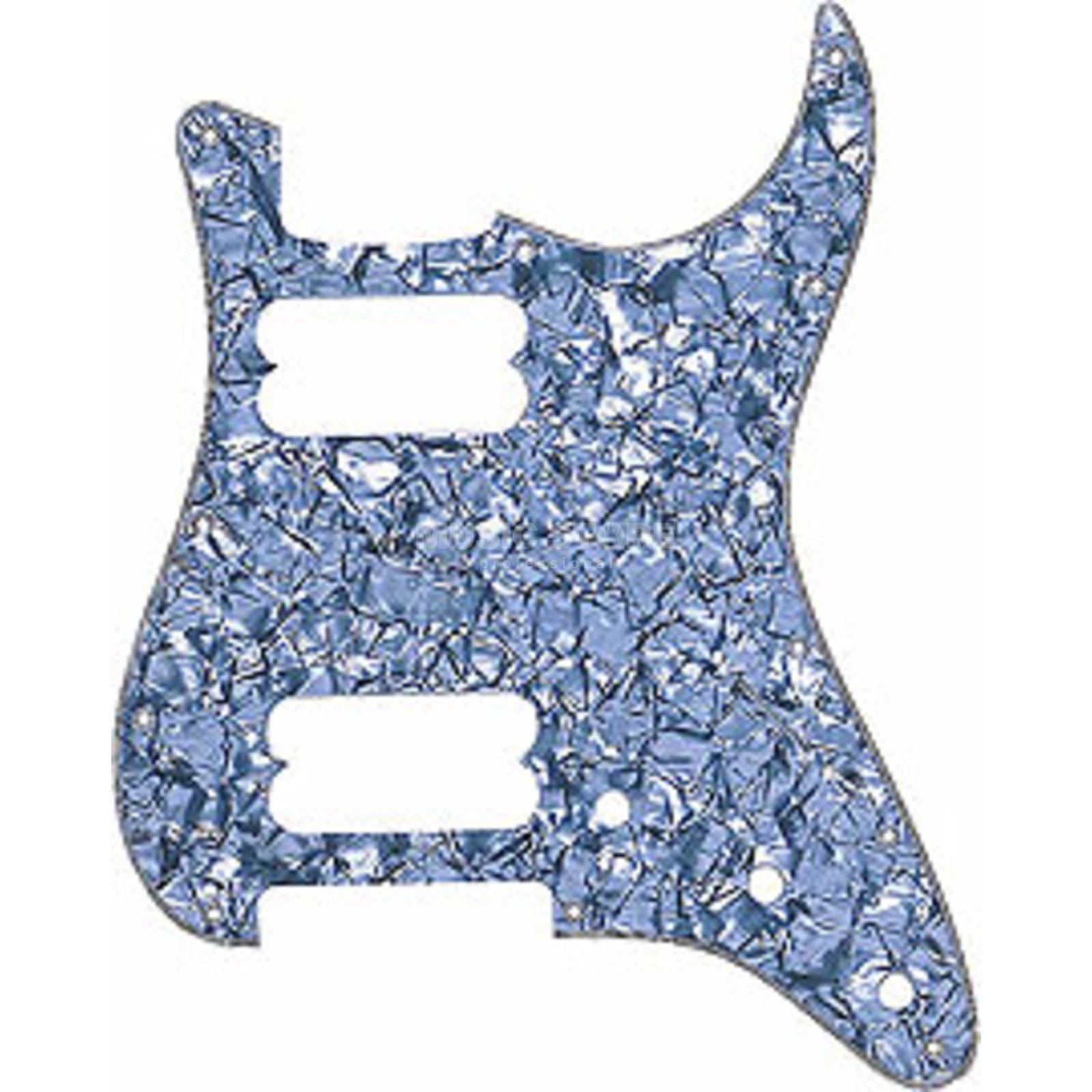 Fender Modern Pickguard Strat HH wit Pearl 4-Ply 11-Hole Productafbeelding