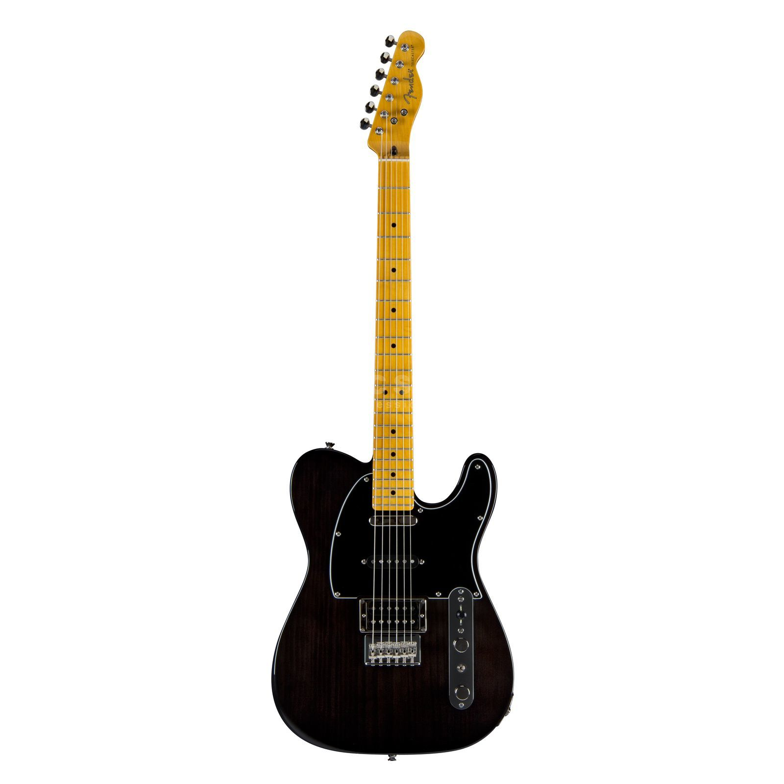 Fender Modern Player Tele Plus MN Charcoal Transparent Produktbillede
