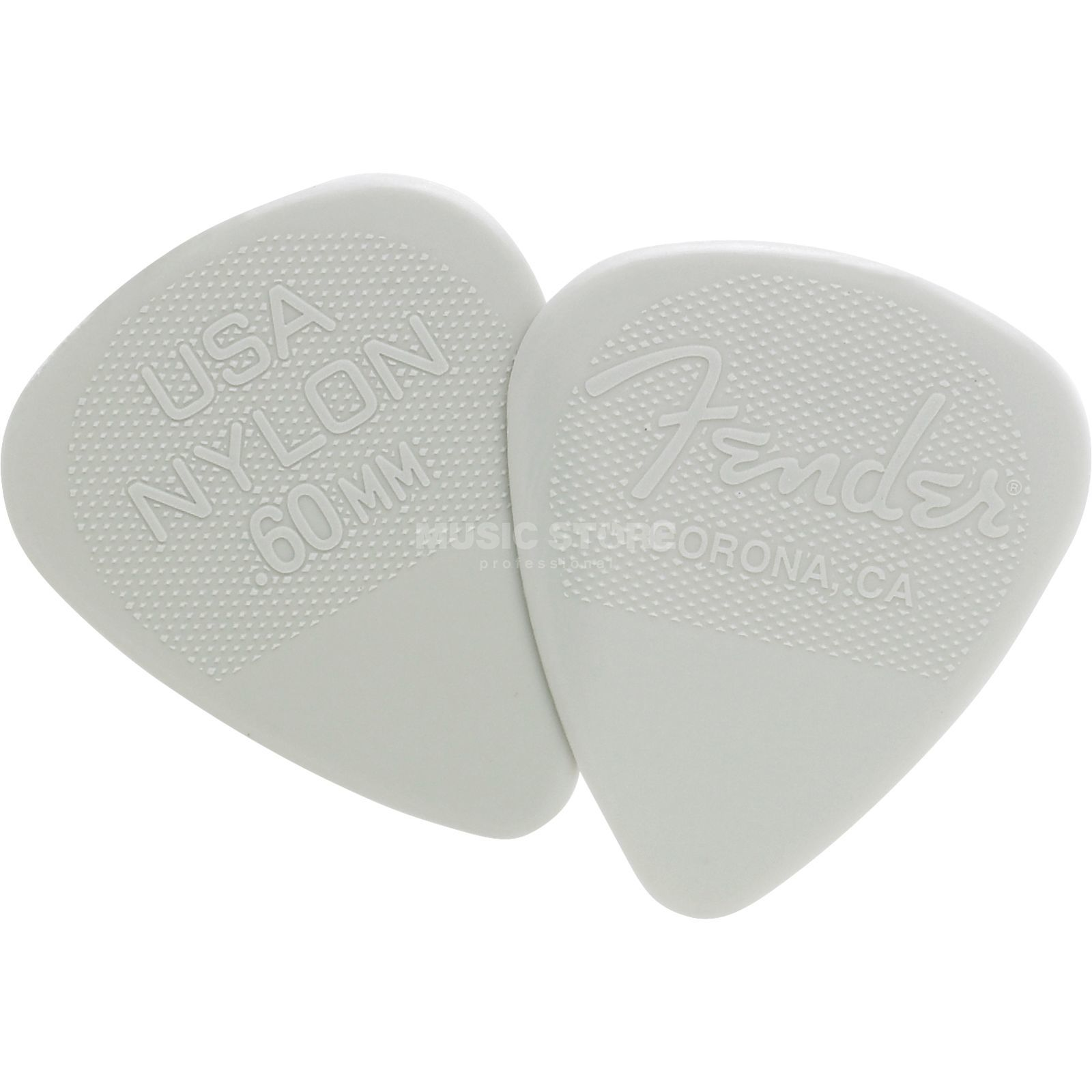 Fender Nylon Pick 12-Pack 0,60  Produktbillede