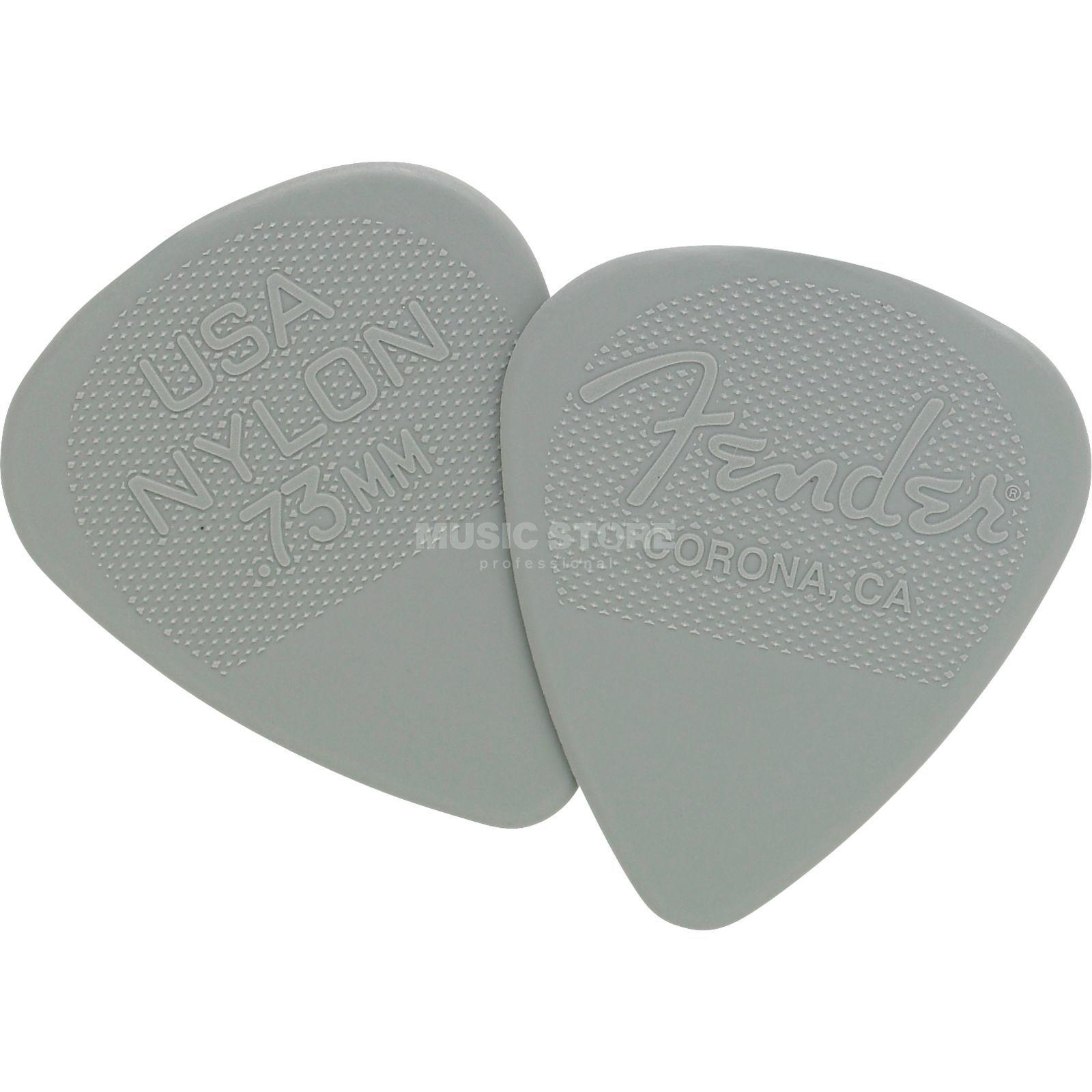 Fender Nylon Picks 12er Set 0,73 Produktbild