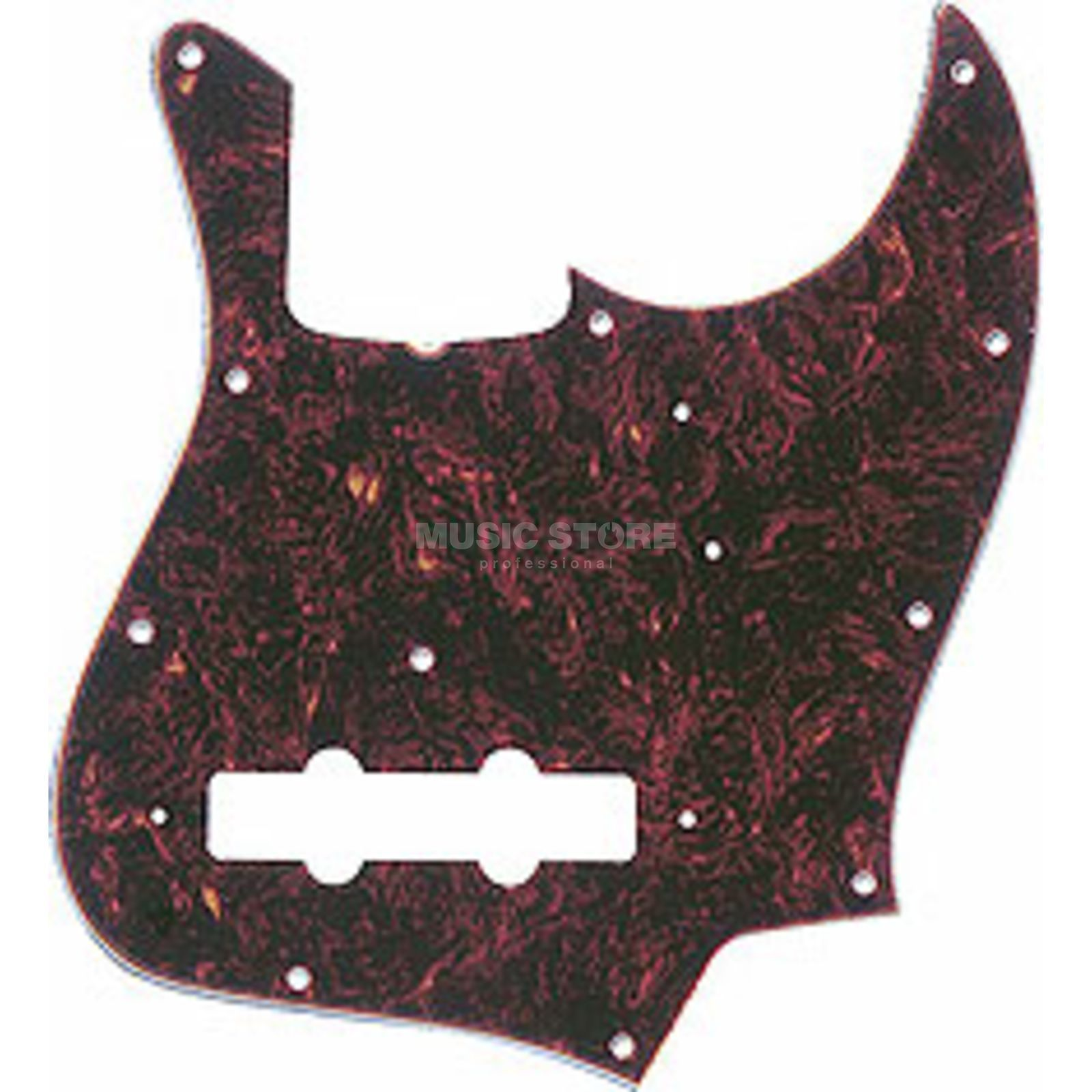 Fender Pickguard ´62 Jazz Bass Tortoise Shell 4-Ply Product Image