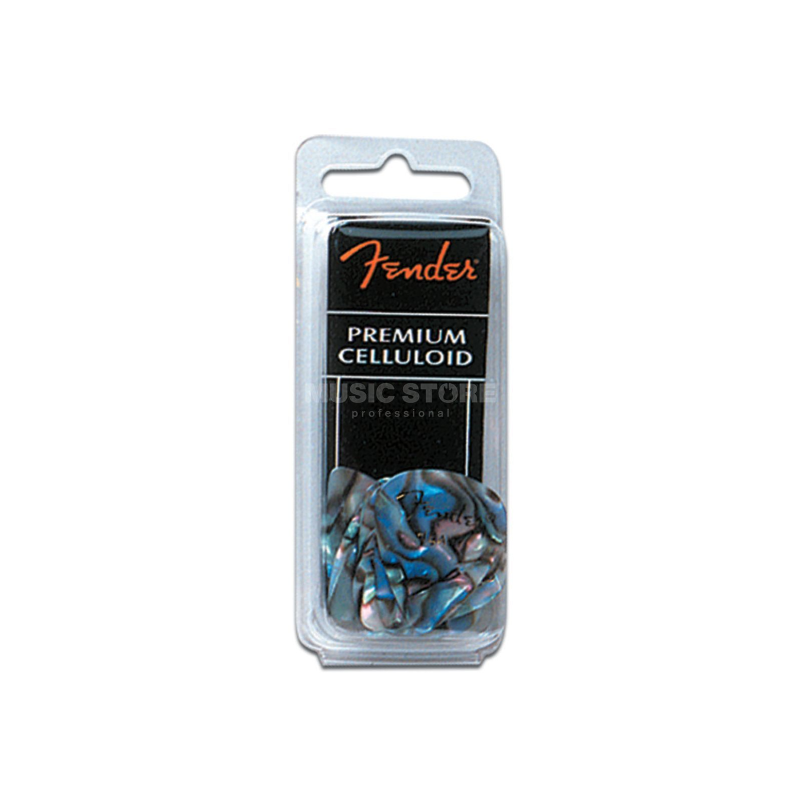 Fender Picks 351 Abalone thin 12er Set Premium Celluloid Produktbild