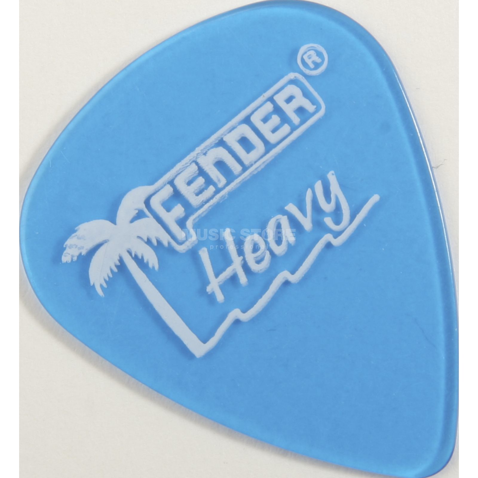 Fender Picks 351 California LPB heavy 12-Pack California Clear Produktbillede
