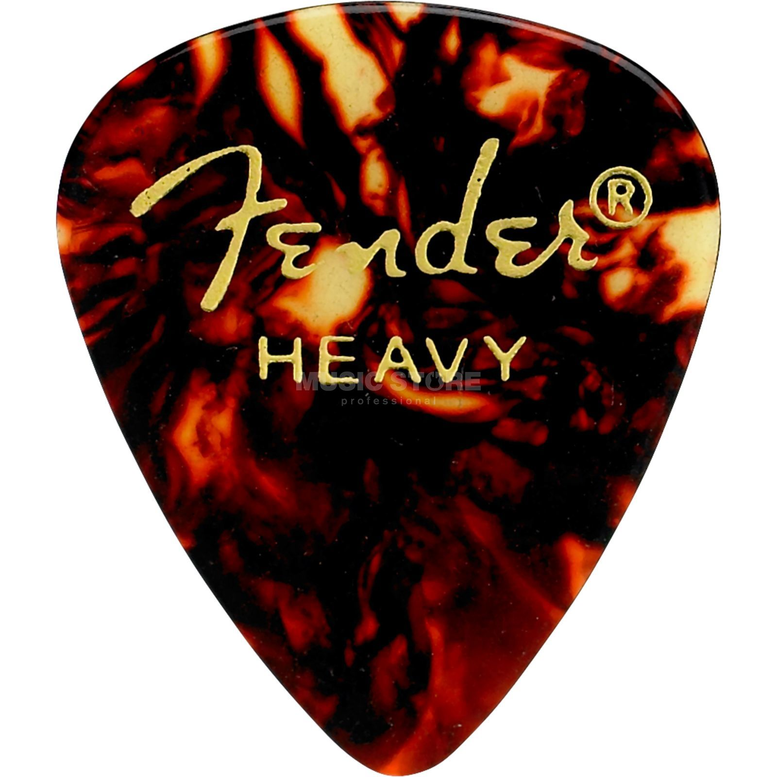 Fender Picks 351 Shell heavy 12er Set Classic Celluloid Produktbild