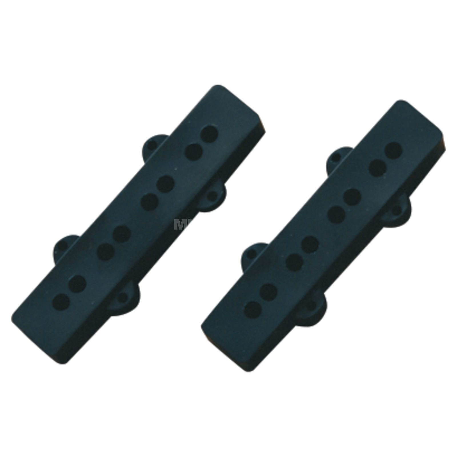 Fender Pickup Cover Jazz Bass Black Product Image
