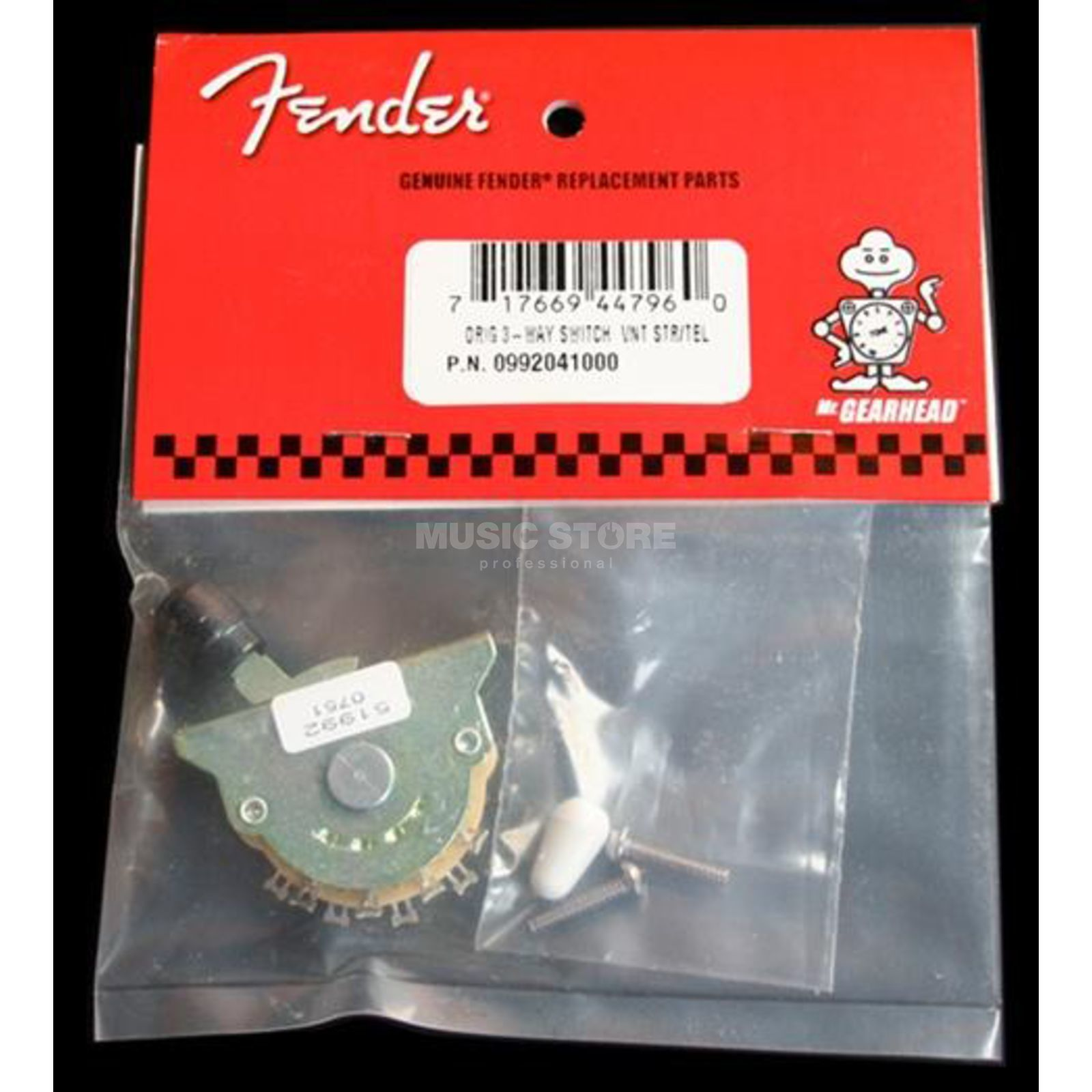 Fender Pickup Selector Switch 3-Weg Tele or Strat Produktbillede