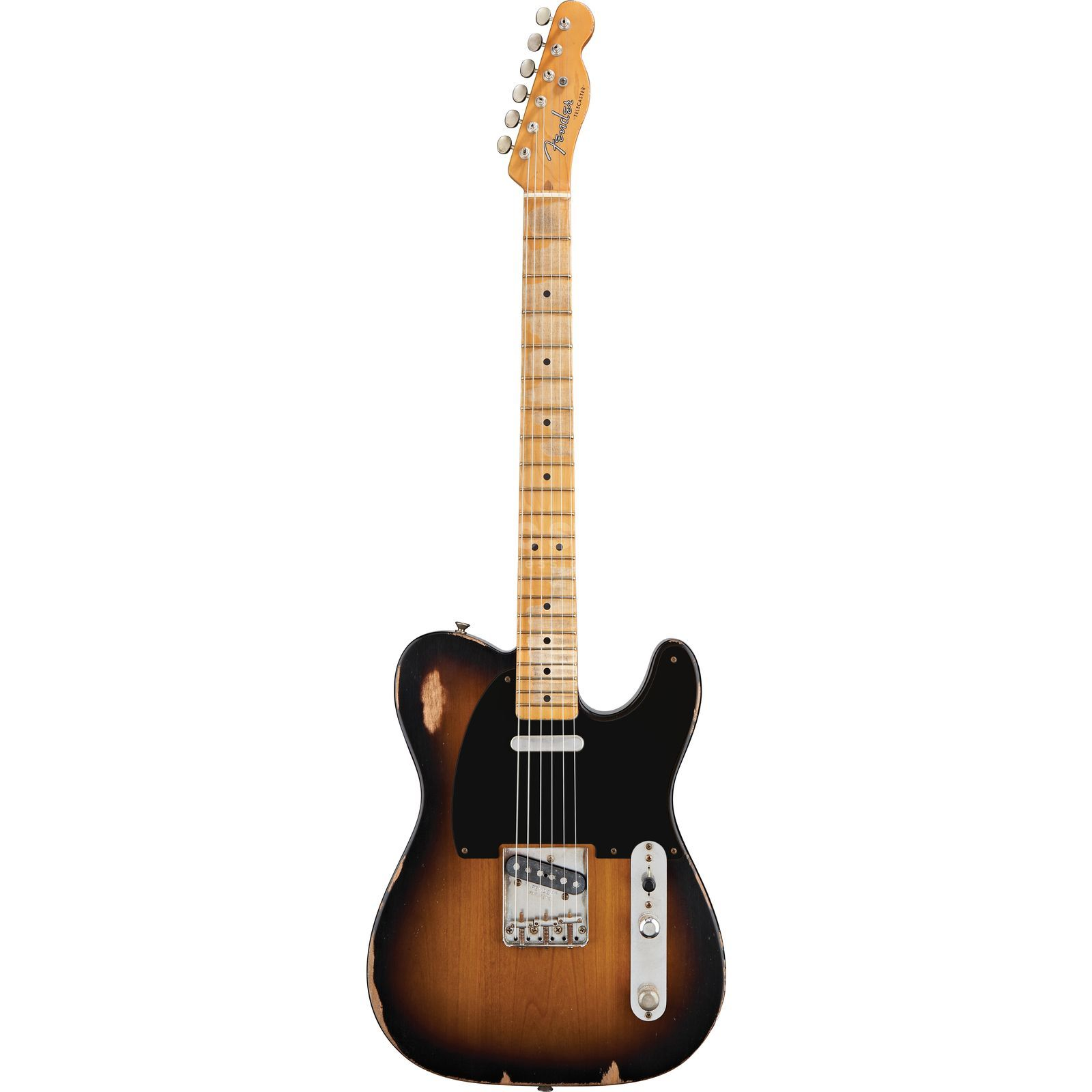 Fender Road Worn 50s Tele MN 2CS 2-Color Sunburst, inkl. Bag Produktbild