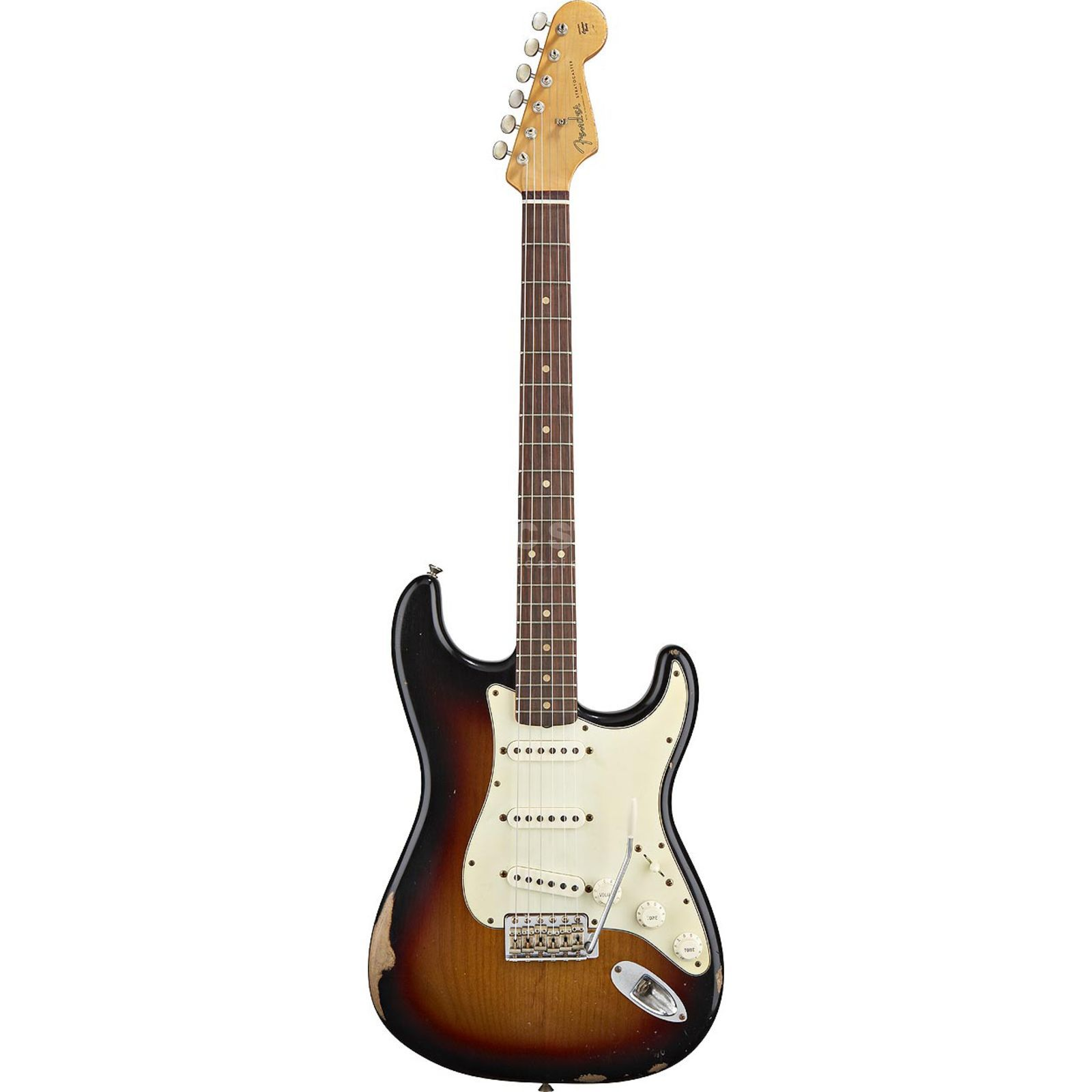 Fender Road Worn 60s Strat RW 3SB 3 Color Sunburst, inkl. Bag Produktbild