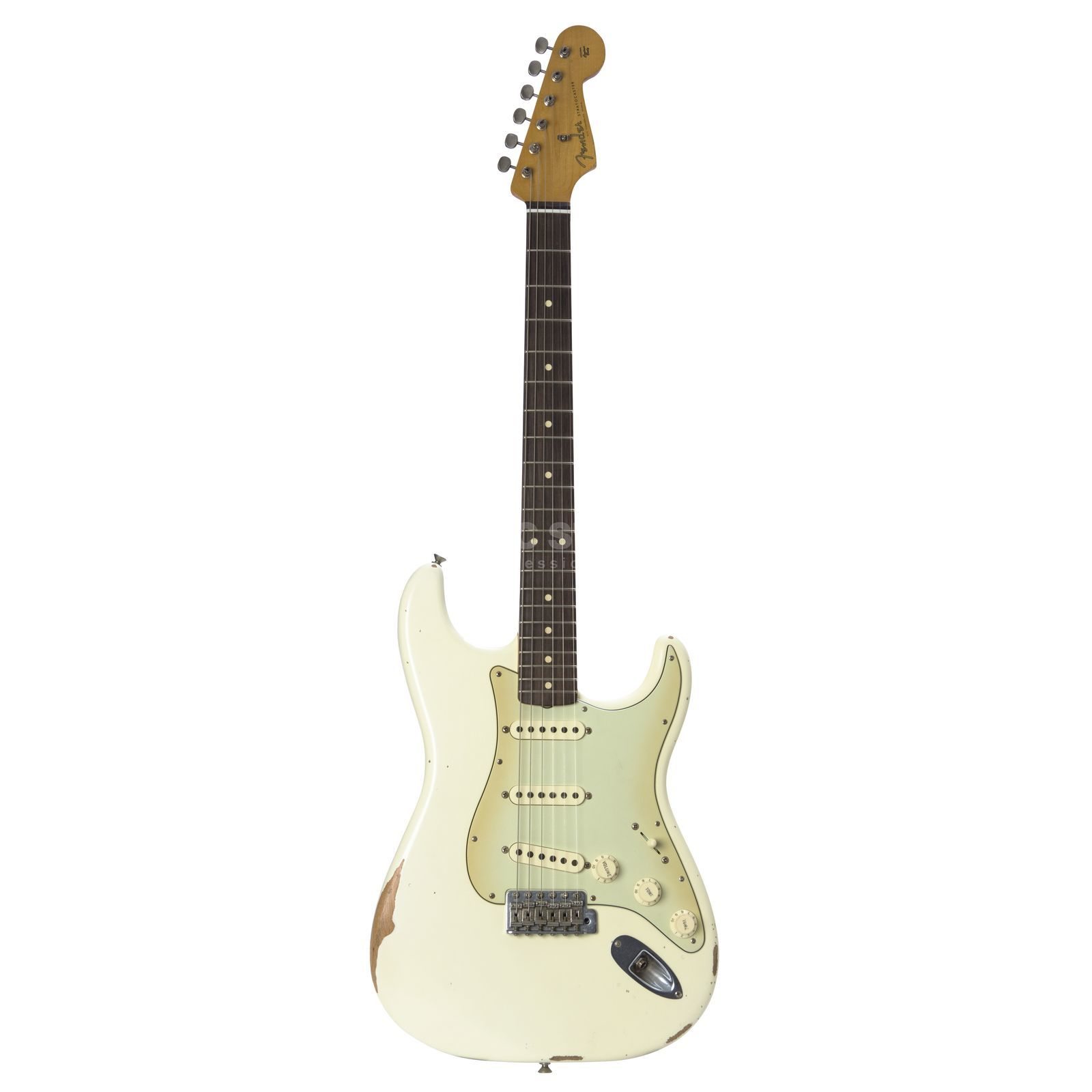 Fender Road Worn 60s Strat RW OWT Olympic White, inkl. Bag Produktbild