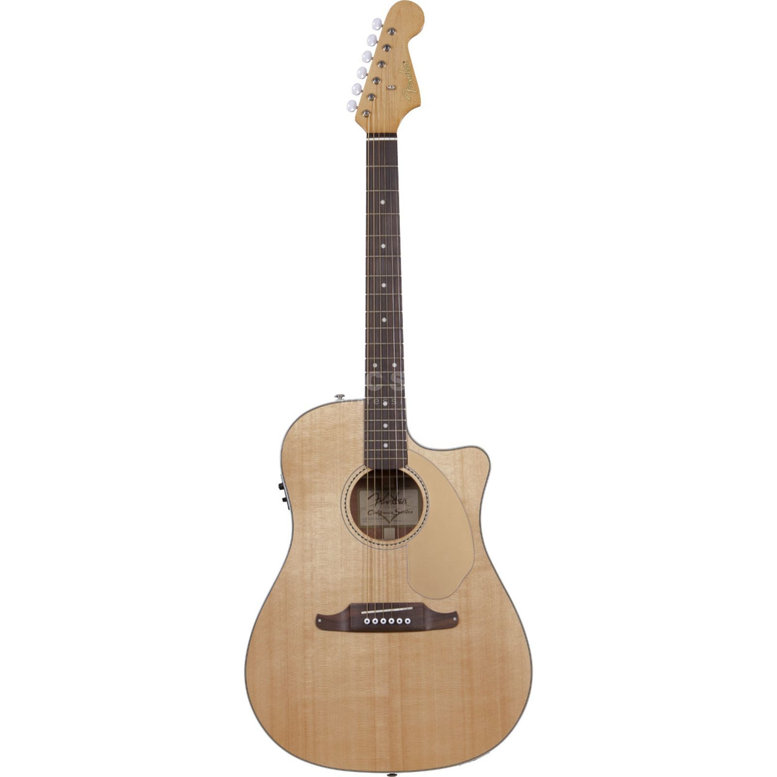 Fender Sonoran SCE Natural Solid top, Fishman Isys III Produktbillede