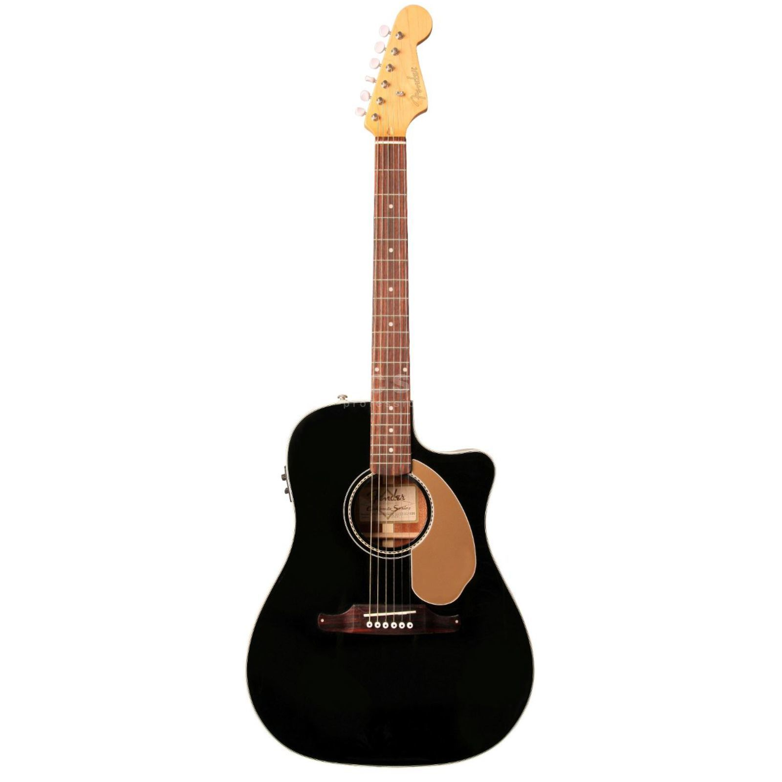 Fender Sonoran SCE Thinline BLK Black Highgloss Produktbillede