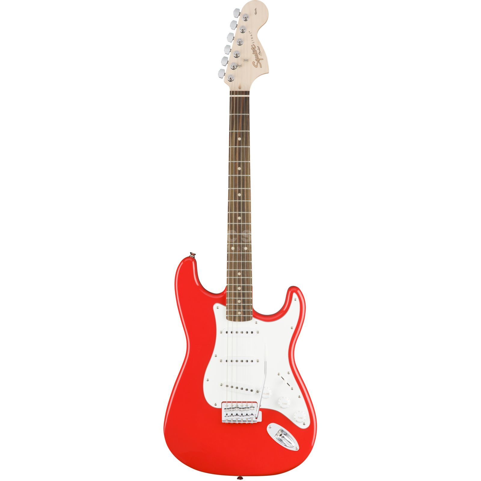 Fender Squier Affinity Series Stratocaster RW Race Red Produktbillede