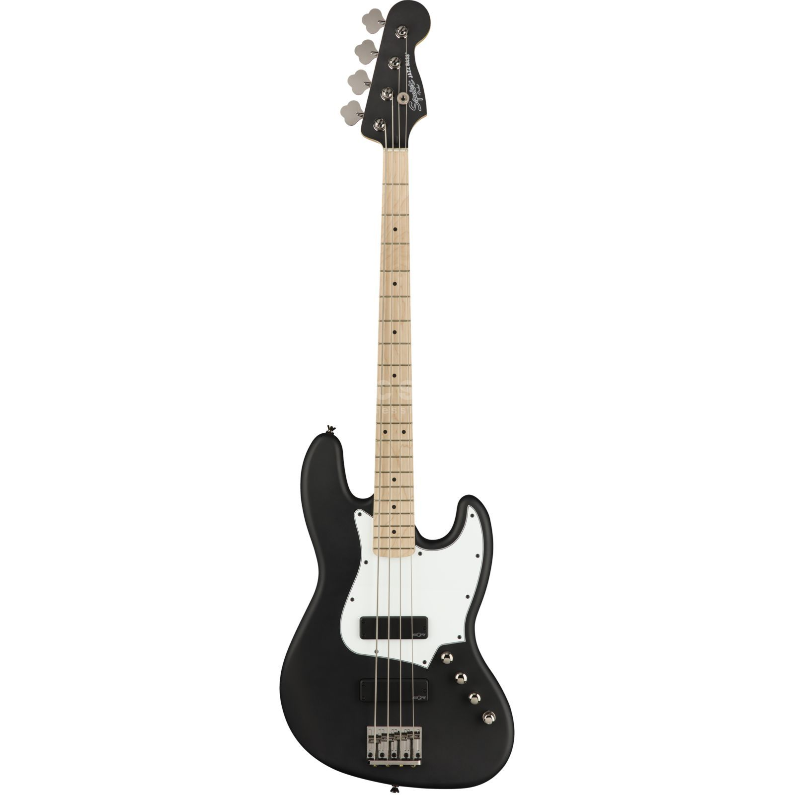 Fender Squier Contemporary Active Jazz Bass HH Flat Black Product Image