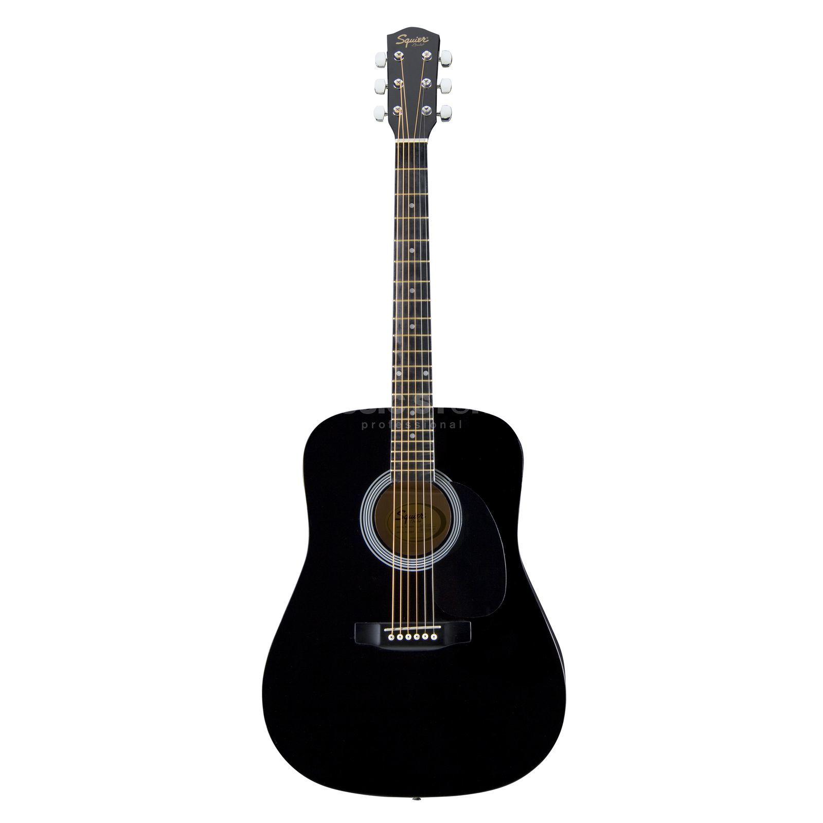 fender squier sa105 acoustic guitar black dv247. Black Bedroom Furniture Sets. Home Design Ideas