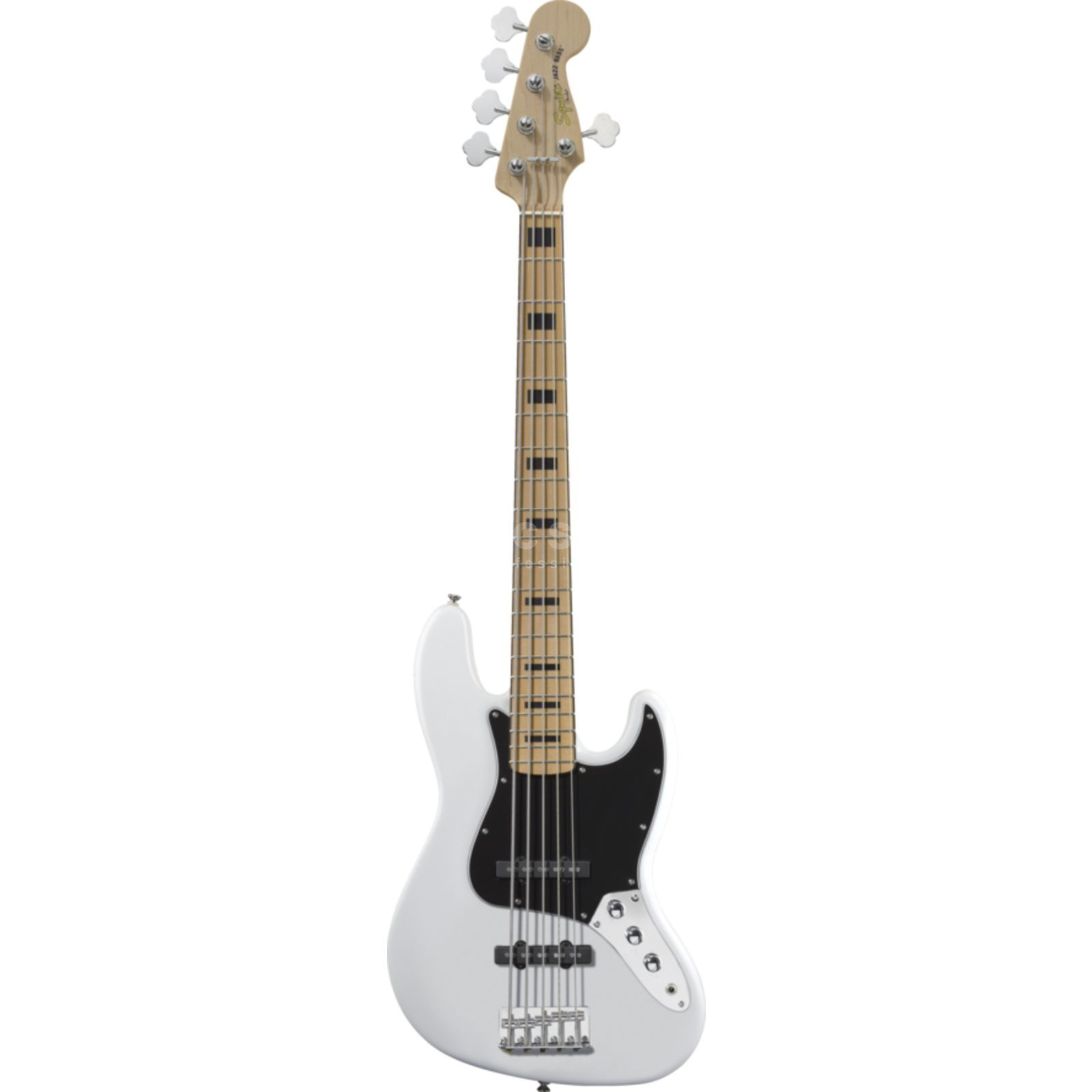 Fender Squier Squier VM J-Bass V MN OW Olympic White, 5-String Изображение товара